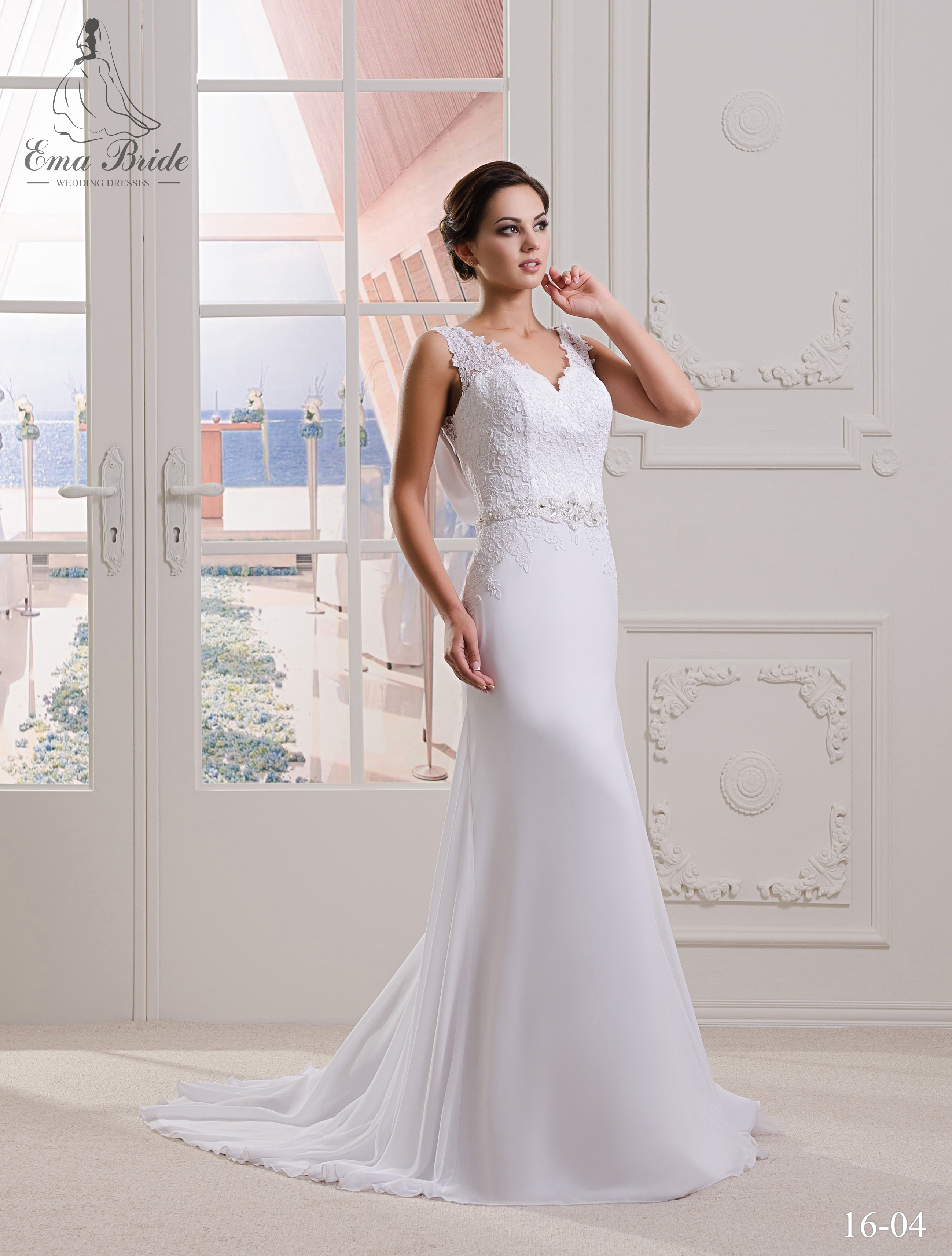 Wedding dress 16-04 wholesale