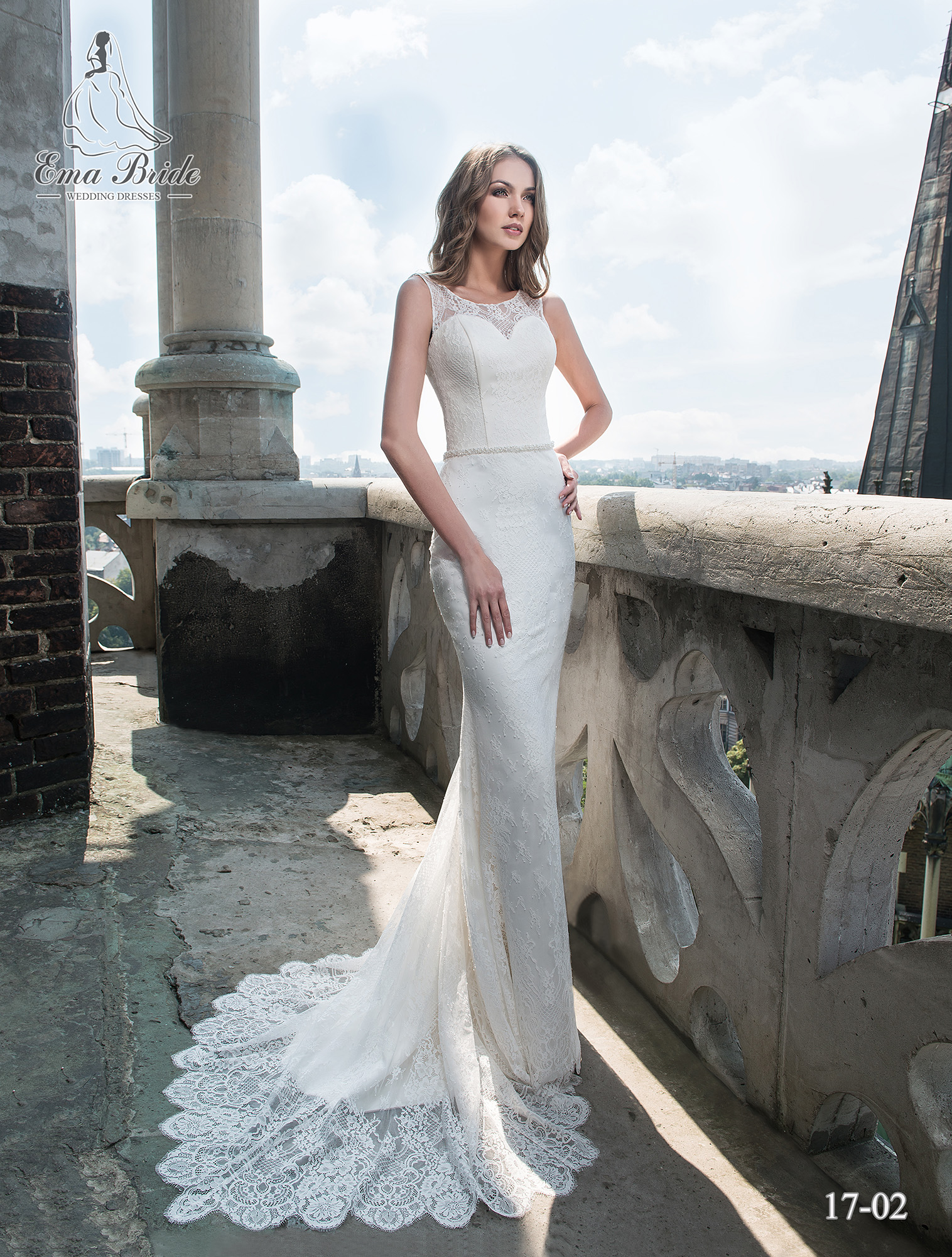 Wedding dress 17-02 wholesale