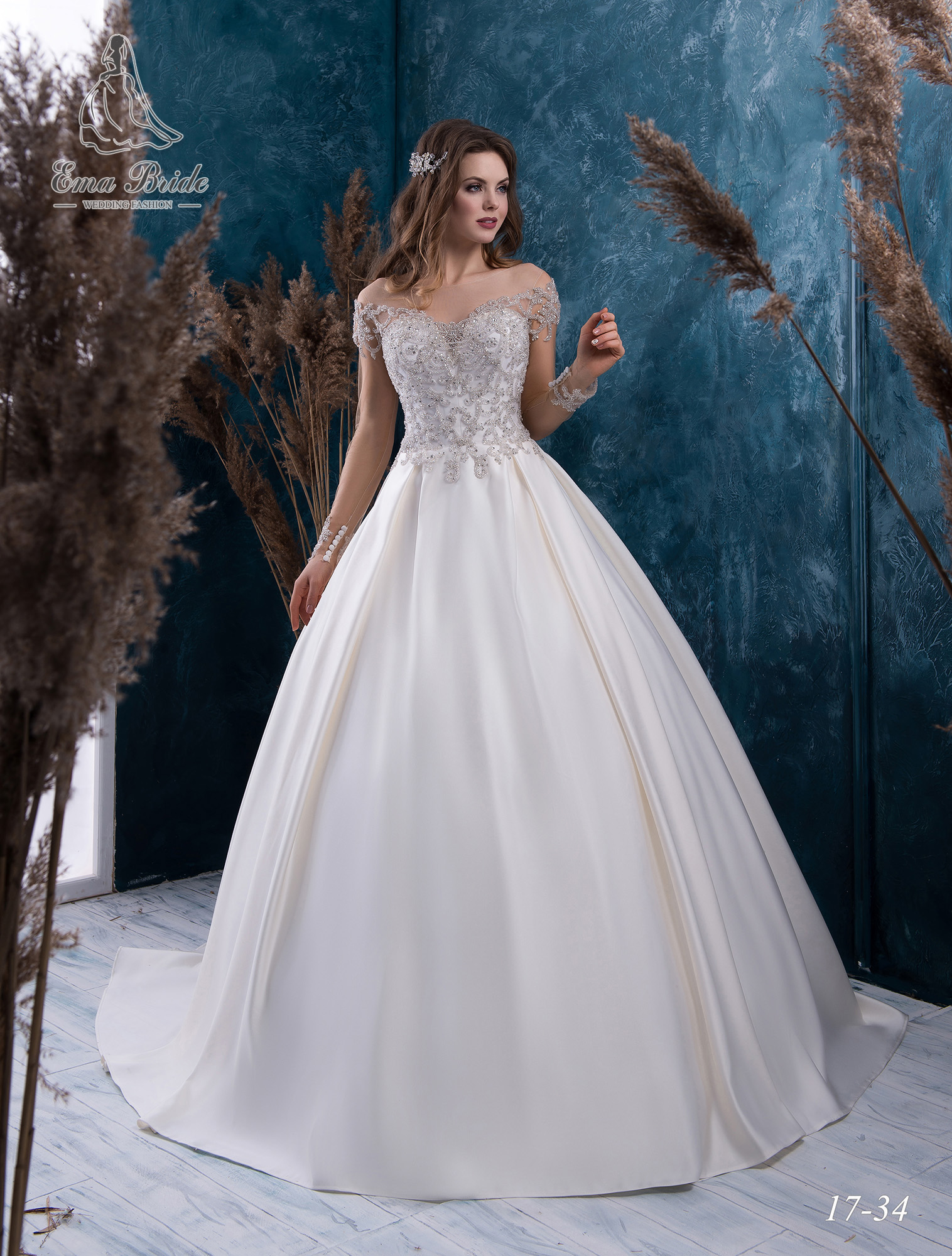 Wedding dress 17-34 wholesale