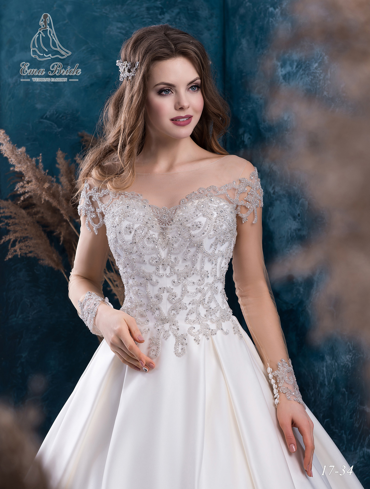 Wedding dress 17-34 wholesale-1