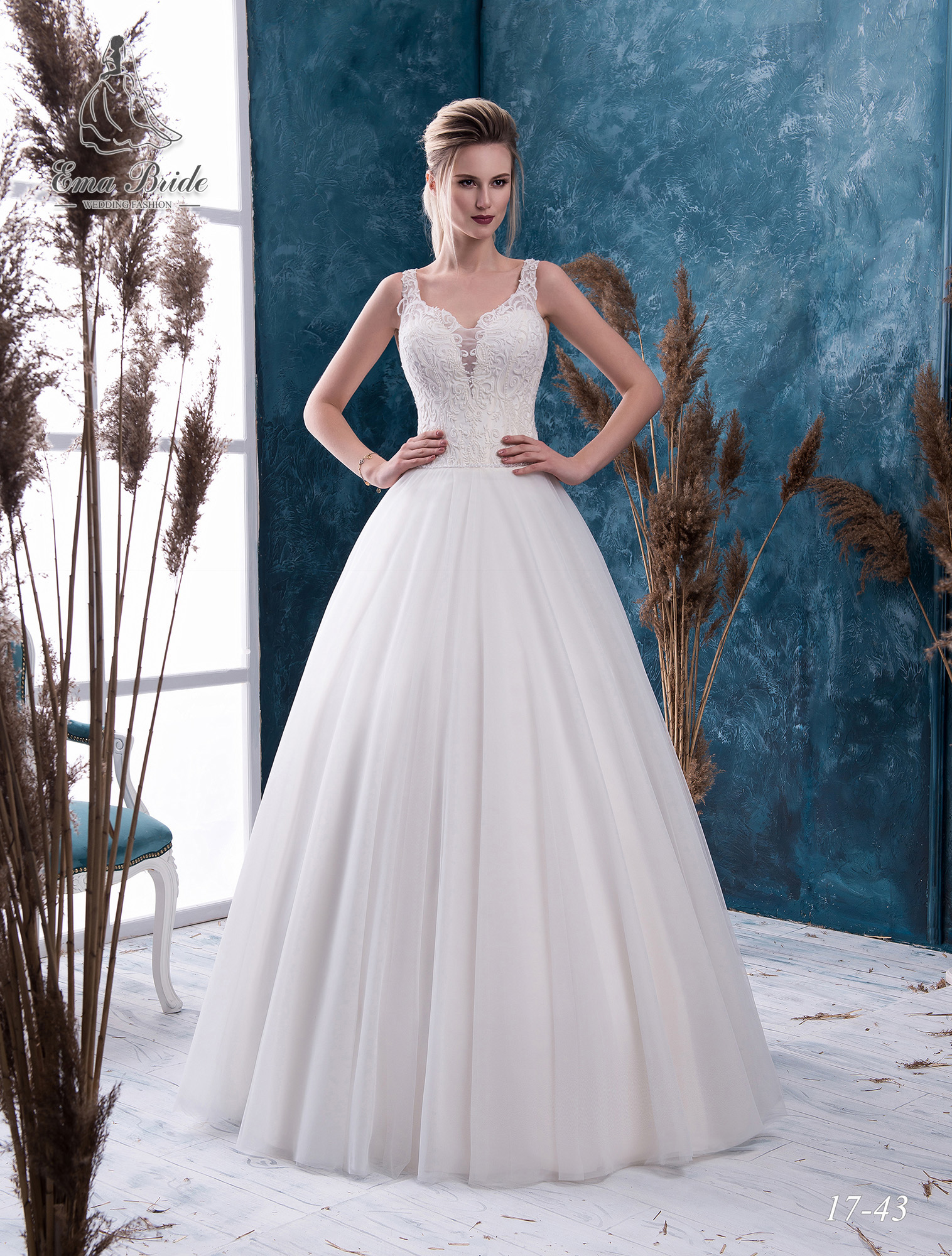 Wedding dress 17-43 wholesale
