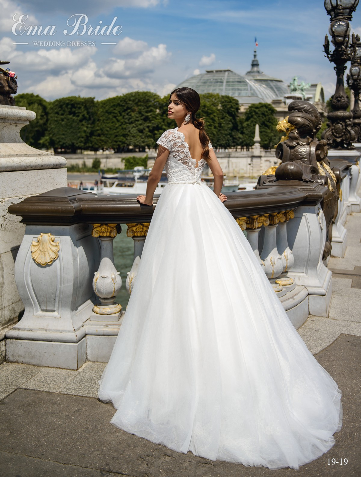 Wedding dress of a style