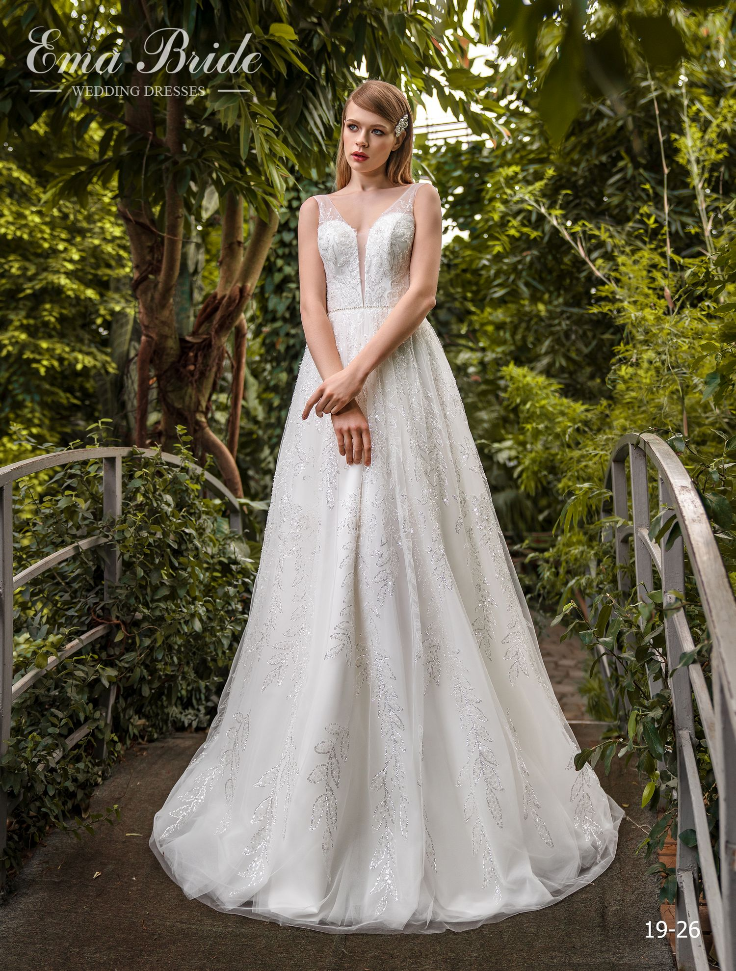 Model 19-26 | Buy wedding dresses wholesale by the ukrainian manufacturer Emabride