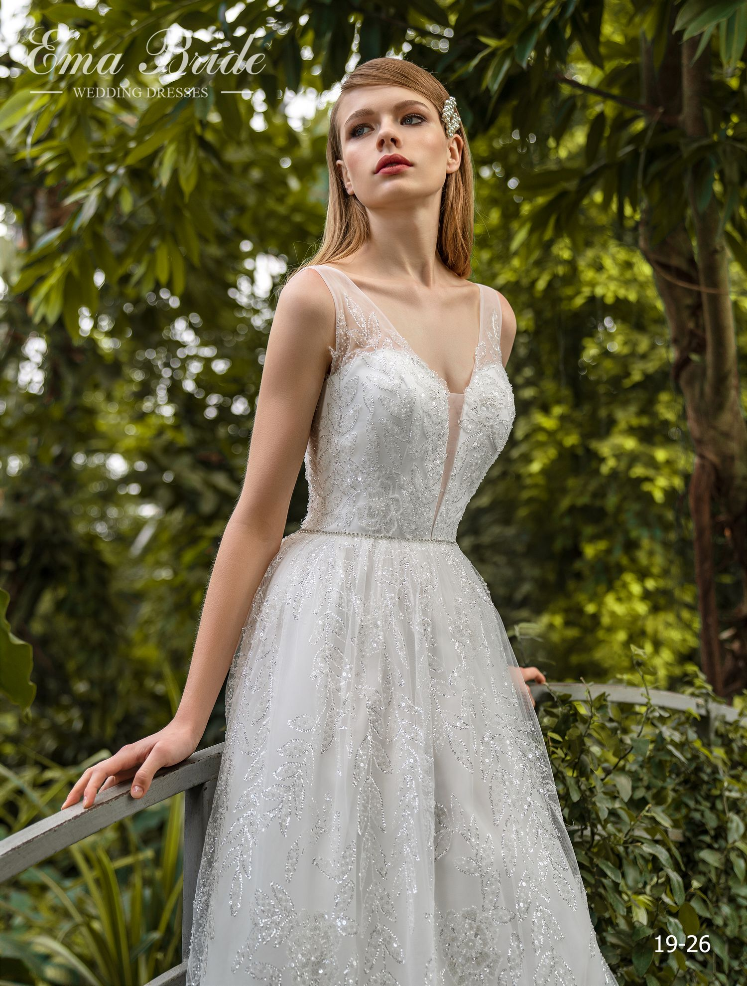 Model 19-26 | Buy wedding dresses wholesale by the ukrainian manufacturer Emabride-1