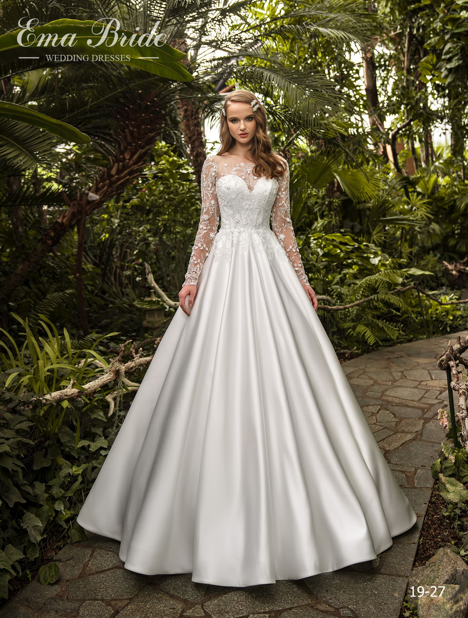 Model 19-27 | Buy wedding dresses wholesale by the ukrainian manufacturer Emabride
