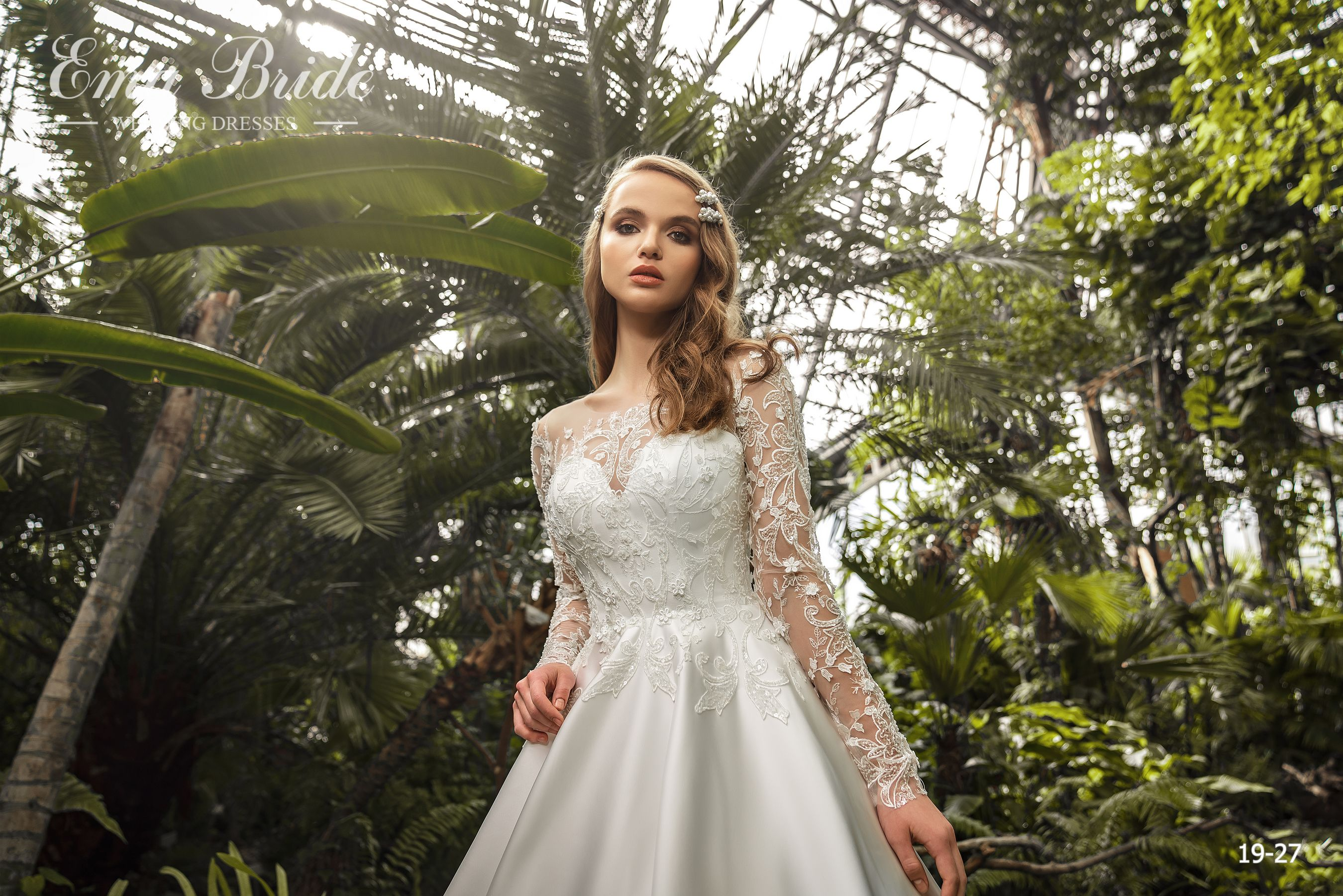 Model 19-27 | Buy wedding dresses wholesale by the ukrainian manufacturer Emabride-1