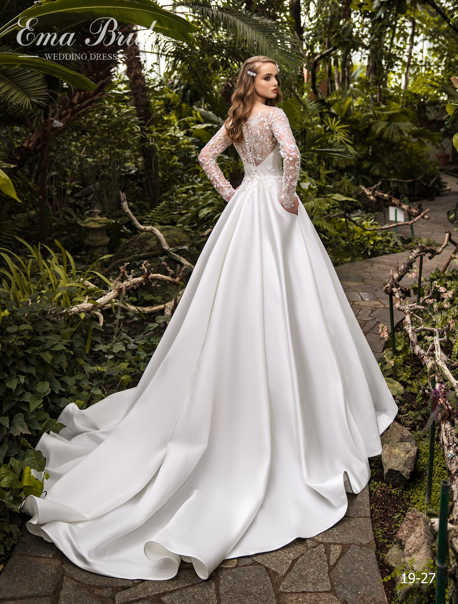 Model 19-27 | Buy wedding dresses wholesale by the ukrainian manufacturer Emabride-2