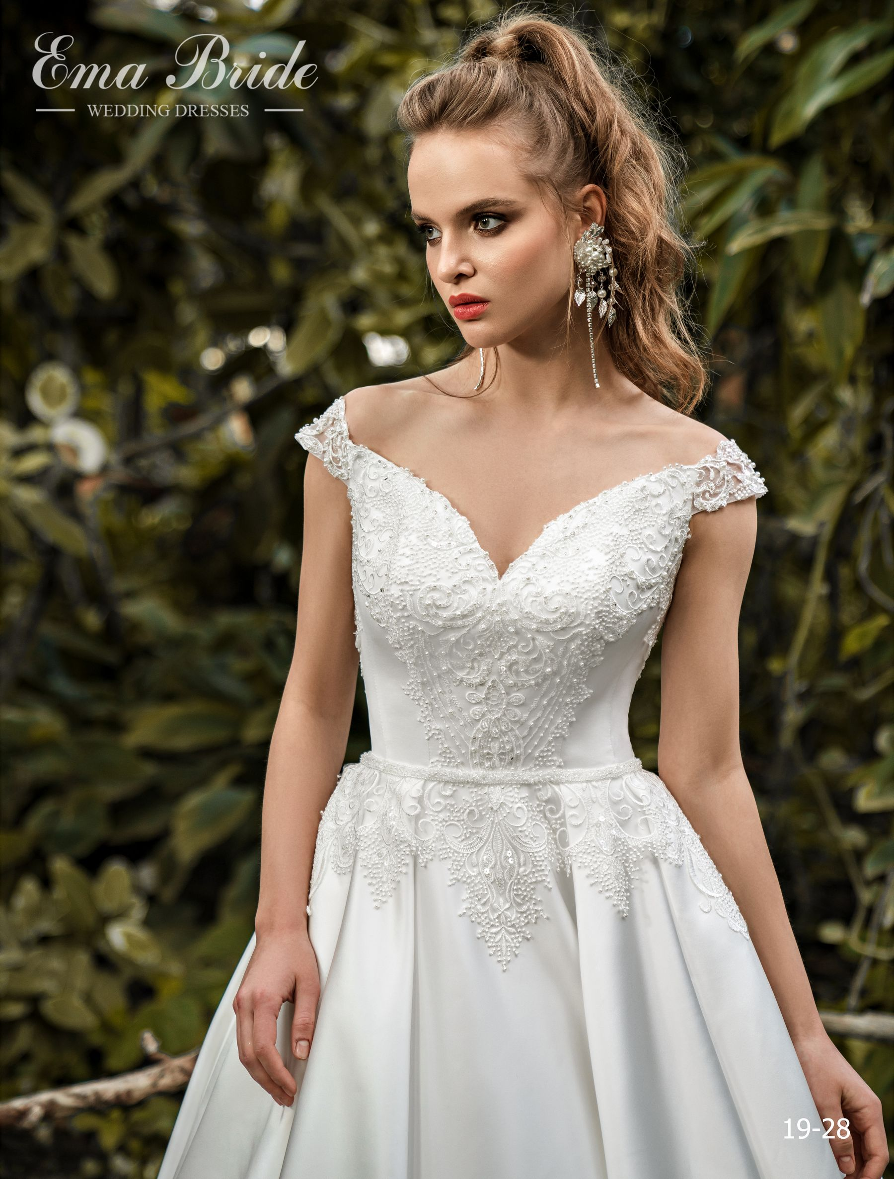 Model 19-28 | Buy wedding dresses wholesale by the ukrainian manufacturer Emabride-1
