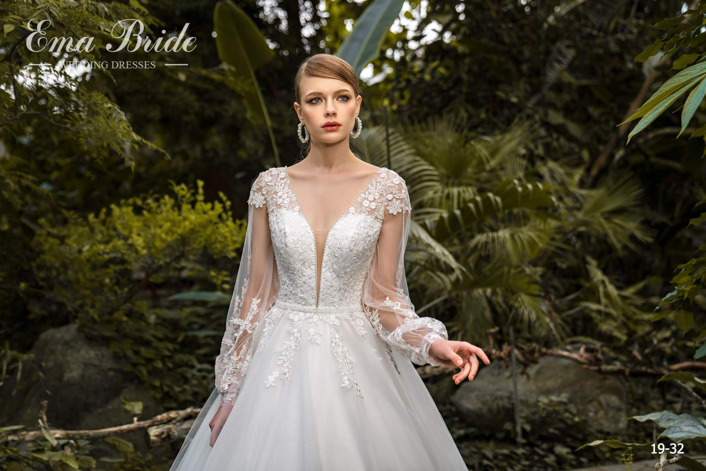 Model 19-32 | Buy wedding dresses wholesale by the ukrainian manufacturer Emabride-2