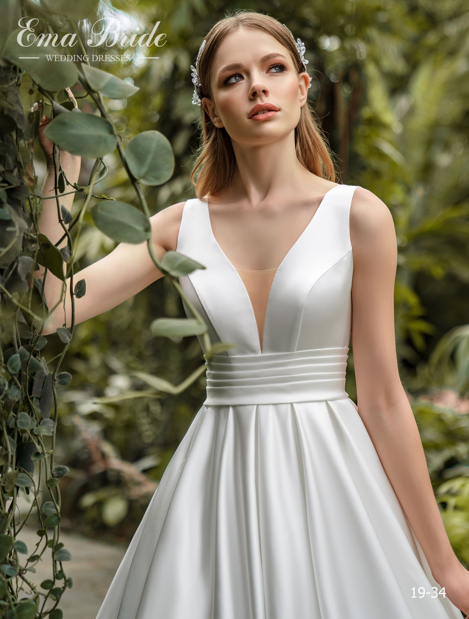 Model 19-34 | Buy wedding dresses wholesale by the ukrainian manufacturer Emabride-1