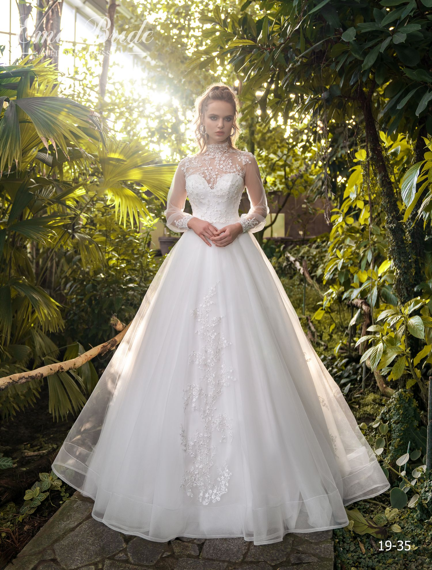 Model 19-35 | Buy wedding dresses wholesale by the ukrainian manufacturer Emabride