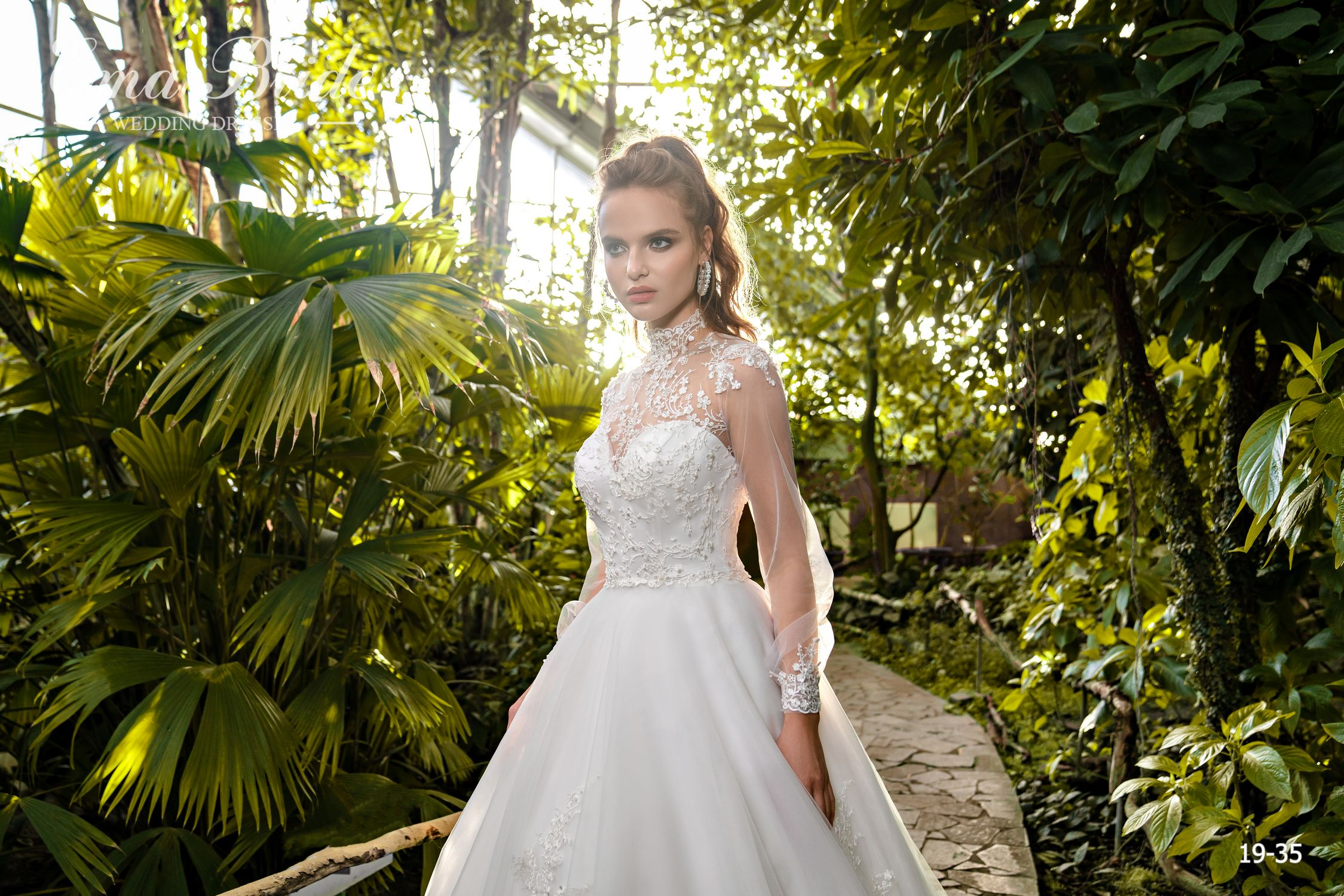 Model 19-35 | Buy wedding dresses wholesale by the ukrainian manufacturer Emabride-2