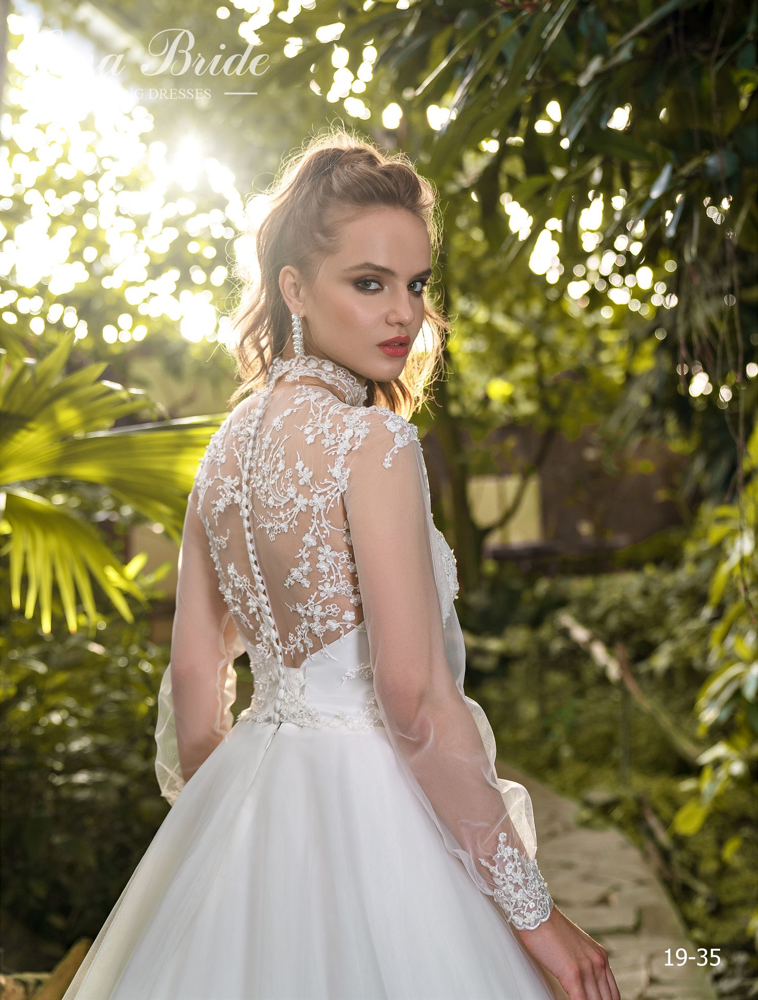 Model 19-35 | Buy wedding dresses wholesale by the ukrainian manufacturer Emabride-1