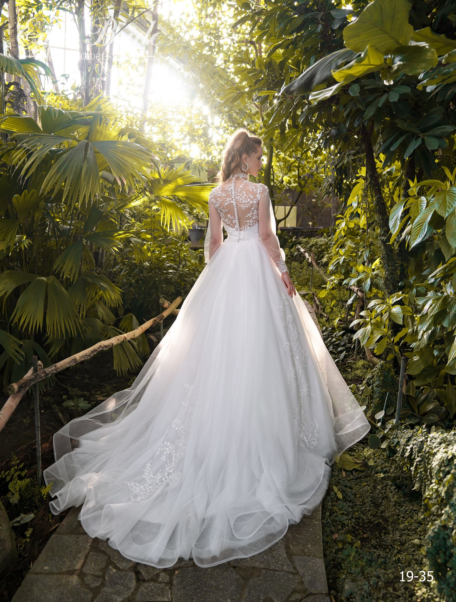 Model 19-35 | Buy wedding dresses wholesale by the ukrainian manufacturer Emabride-3