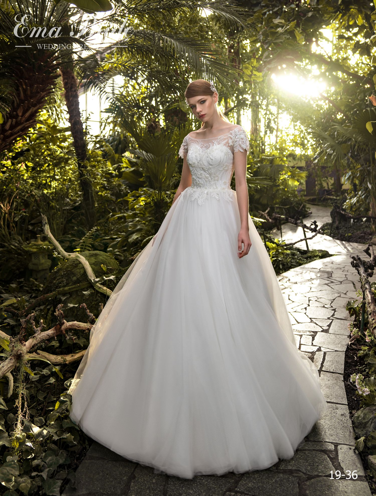 Model 19-36 | Buy wedding dresses wholesale by the ukrainian manufacturer Emabride