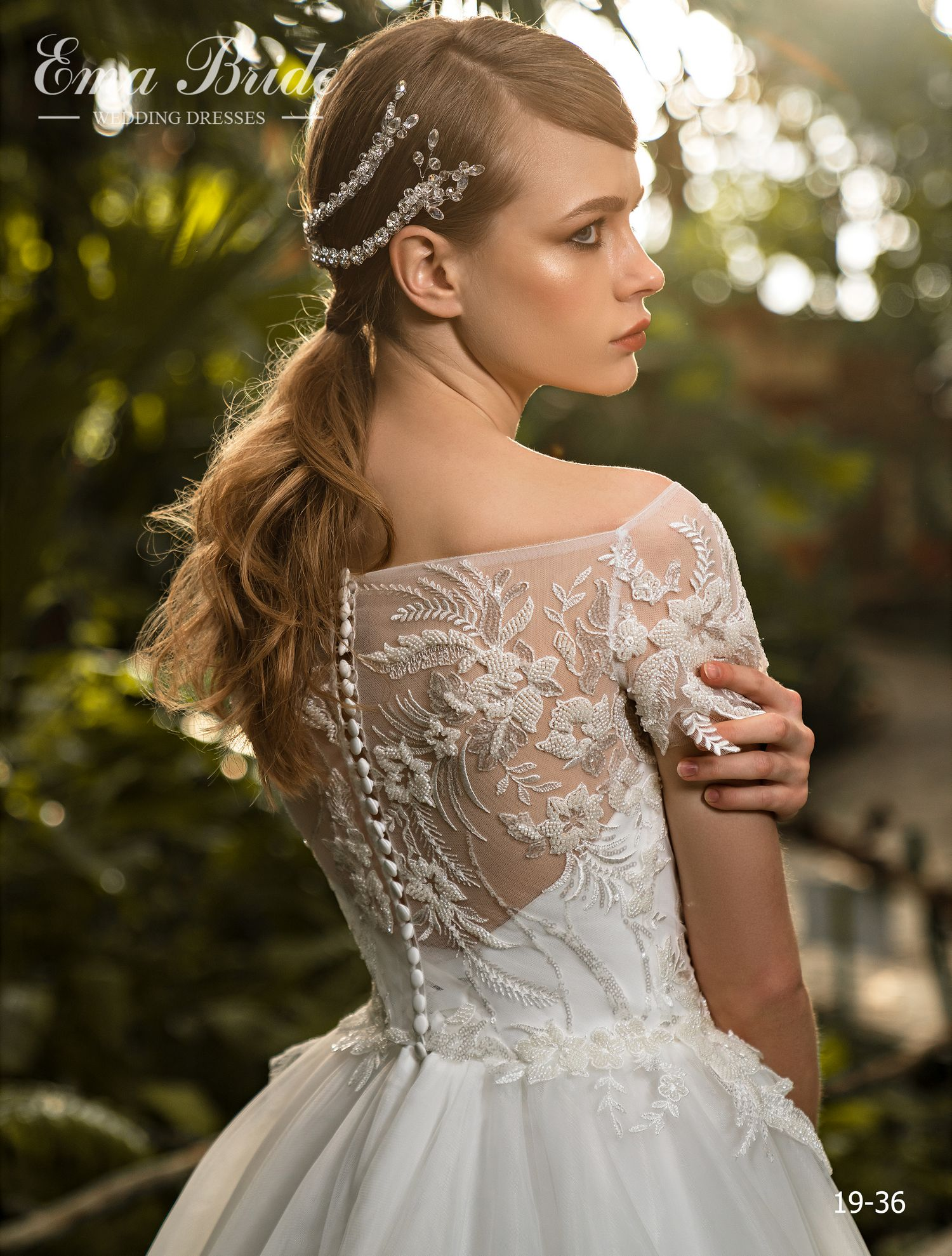 Model 19-36 | Buy wedding dresses wholesale by the ukrainian manufacturer Emabride-1