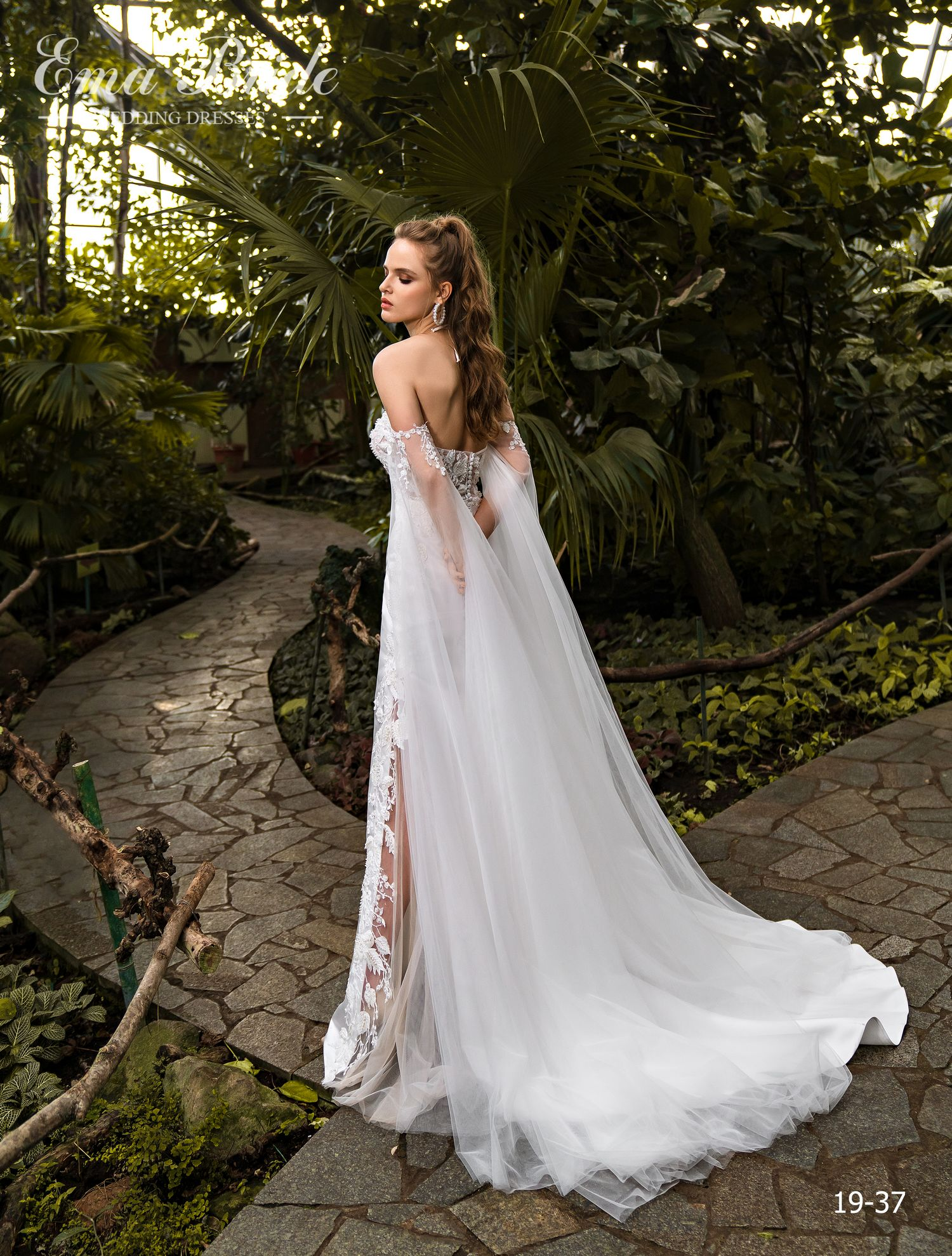 Model 19-37 | Buy wedding dresses wholesale by the ukrainian manufacturer Emabride-2