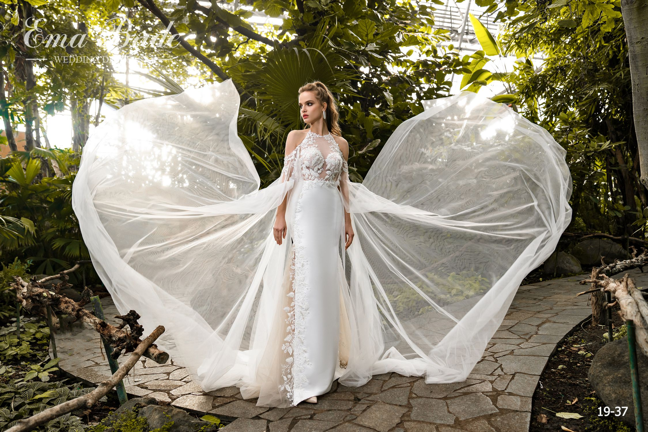 Model 19-37 | Buy wedding dresses wholesale by the ukrainian manufacturer Emabride-4