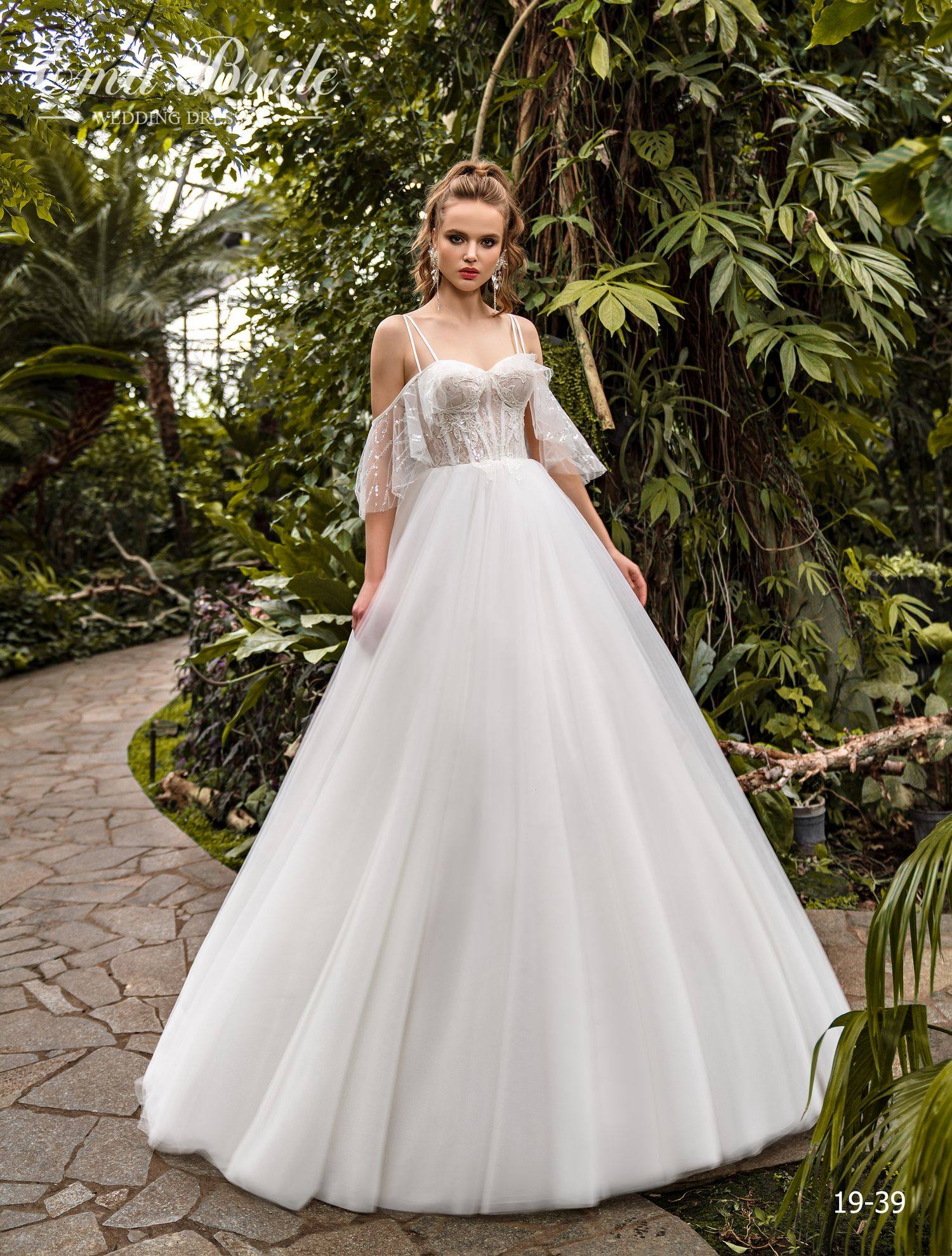 Model 19-39 | Buy wedding dresses wholesale by the ukrainian manufacturer Emabride