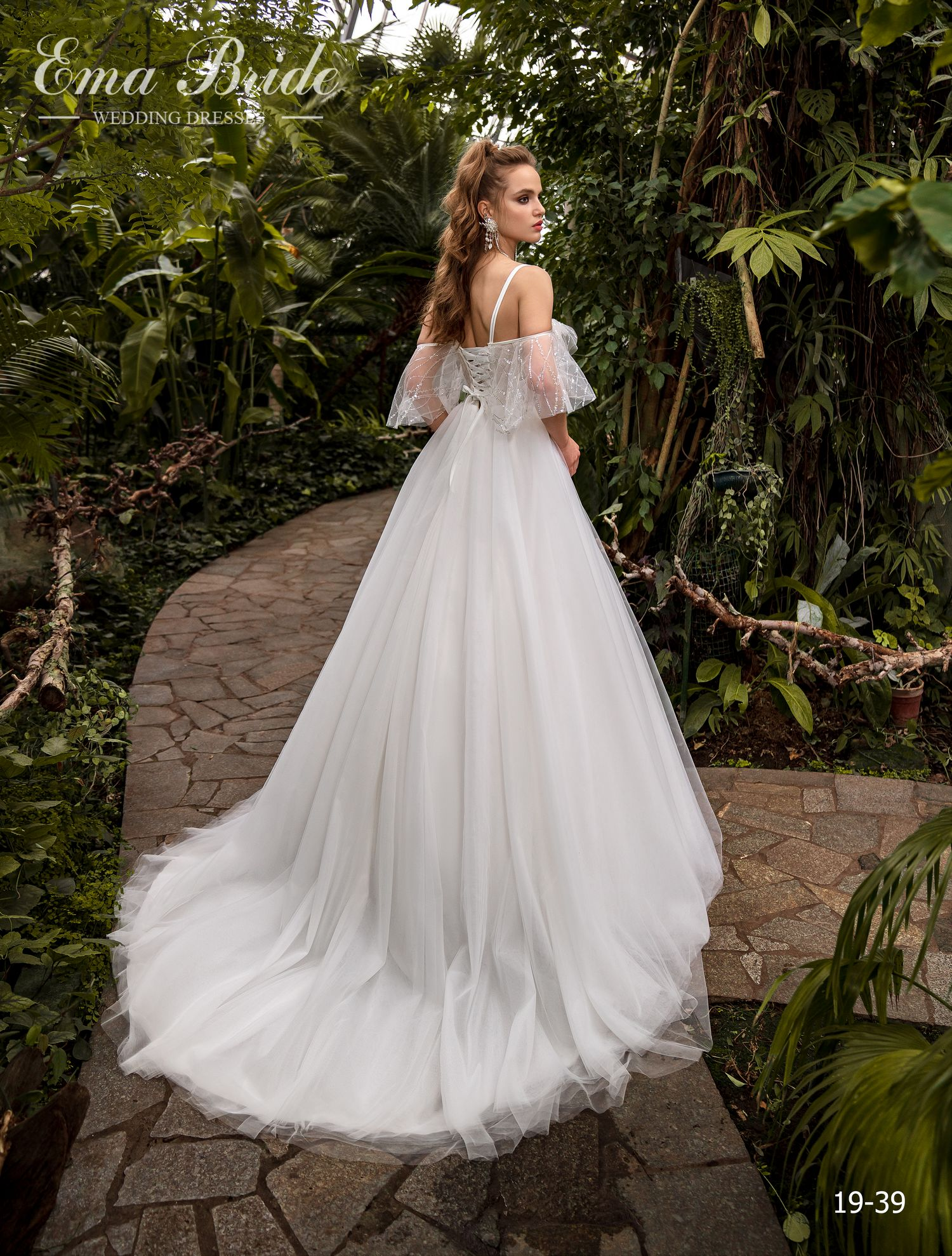 Model 19-39 | Buy wedding dresses wholesale by the ukrainian manufacturer Emabride-2