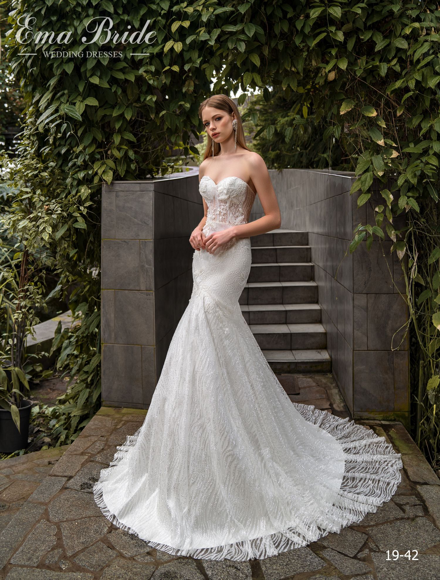 Model 19-42 | Buy wedding dresses wholesale by the ukrainian manufacturer Emabride