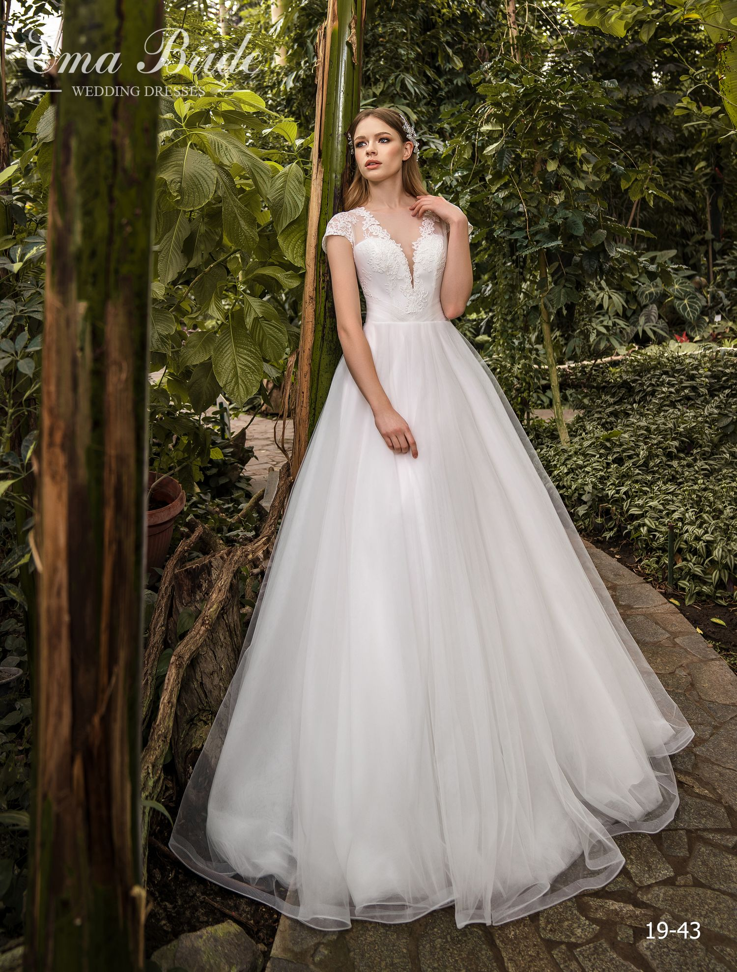Model 19-43 | Buy wedding dresses wholesale by the ukrainian manufacturer Emabride