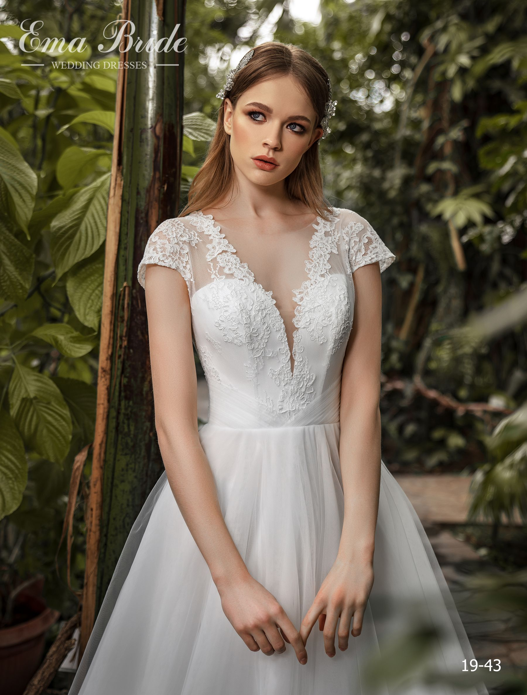 Model 19-43 | Buy wedding dresses wholesale by the ukrainian manufacturer Emabride-1