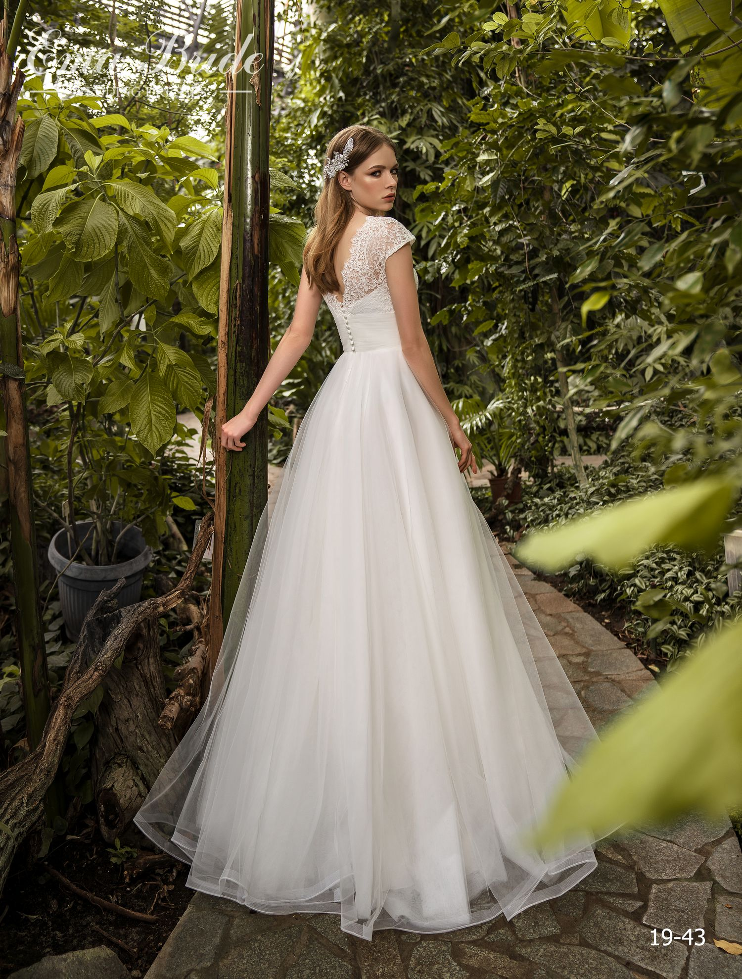 Model 19-43 | Buy wedding dresses wholesale by the ukrainian manufacturer Emabride-2