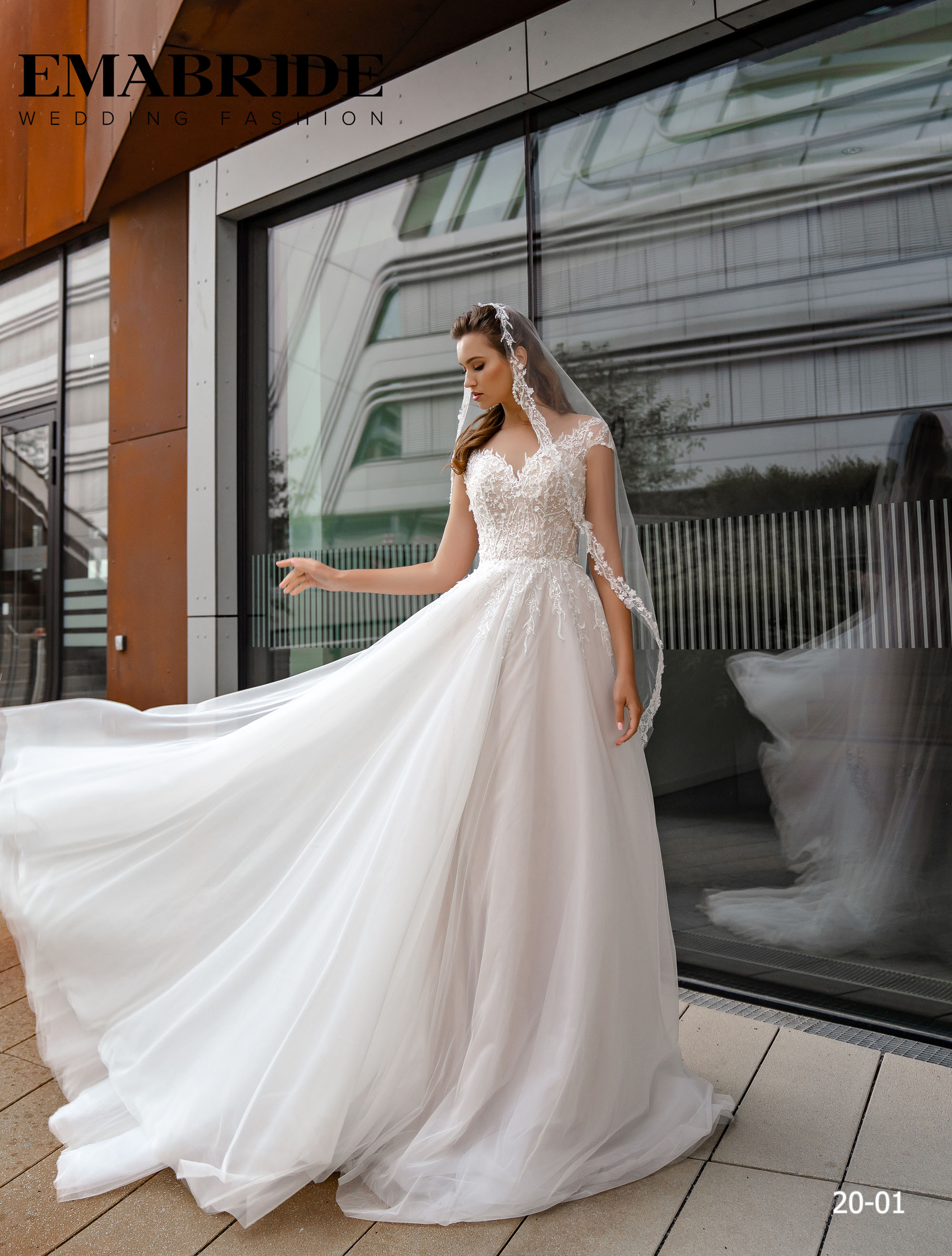 Model 20-01 | Buy wedding dresses wholesale by the ukrainian manufacturer Emabride