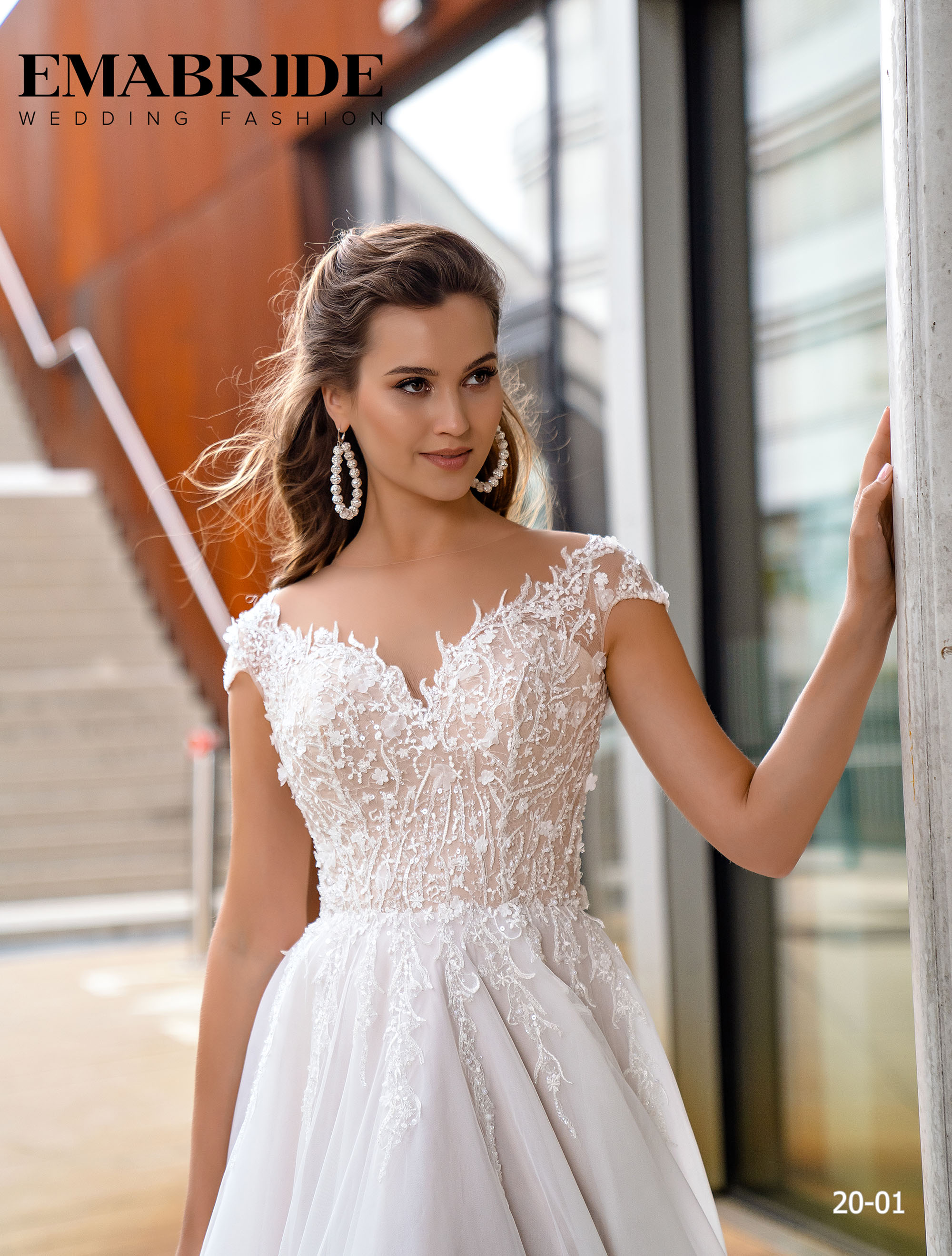 Model 20-01 | Buy wedding dresses wholesale by the ukrainian manufacturer Emabride-1