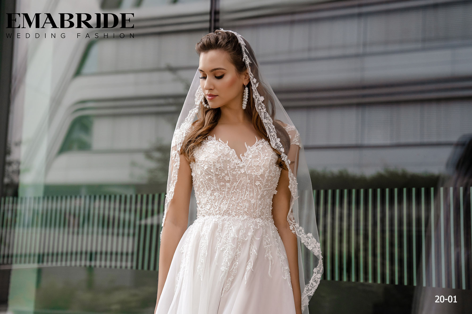 Model 20-01 | Buy wedding dresses wholesale by the ukrainian manufacturer Emabride-4