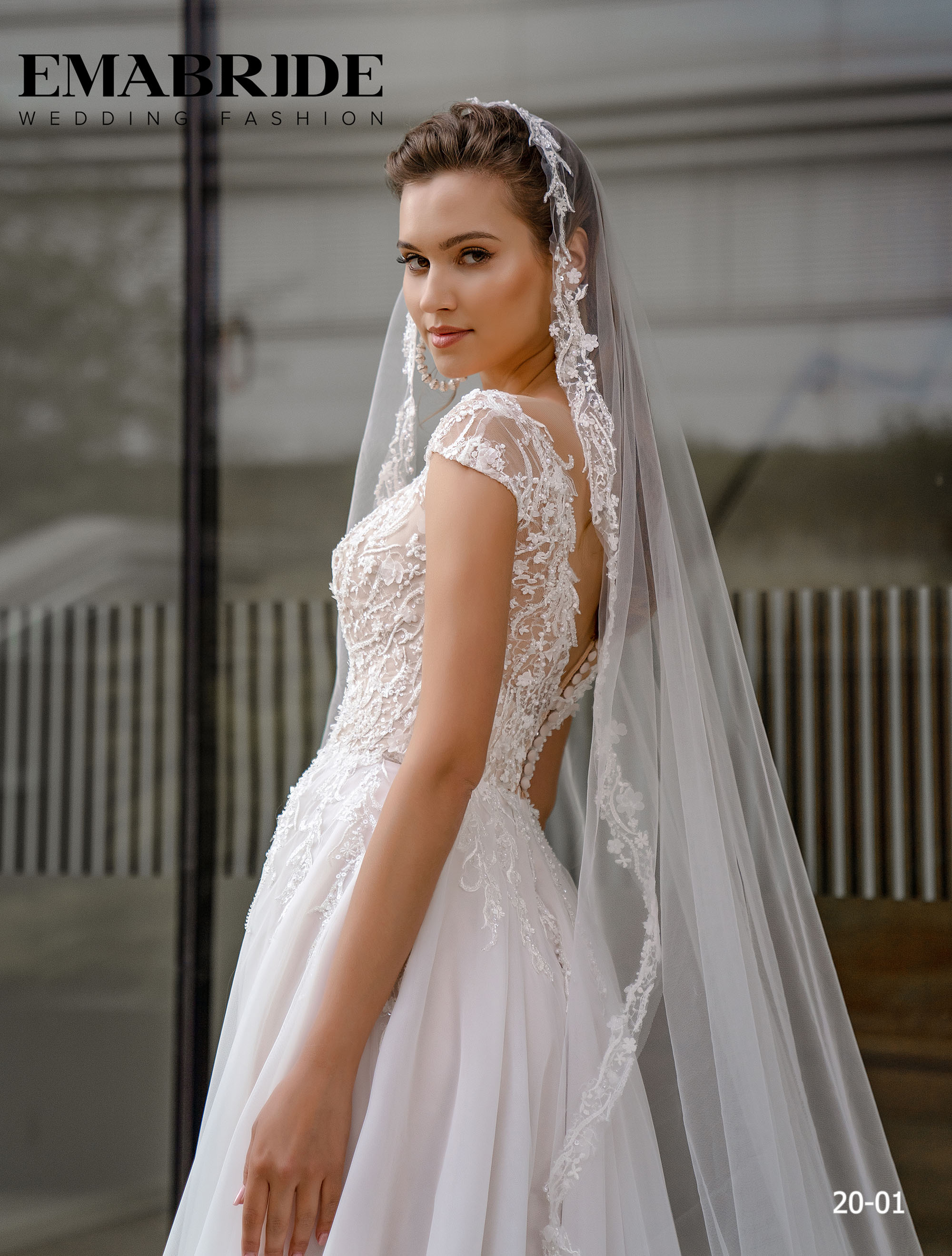 Model 20-01 | Buy wedding dresses wholesale by the ukrainian manufacturer Emabride-5