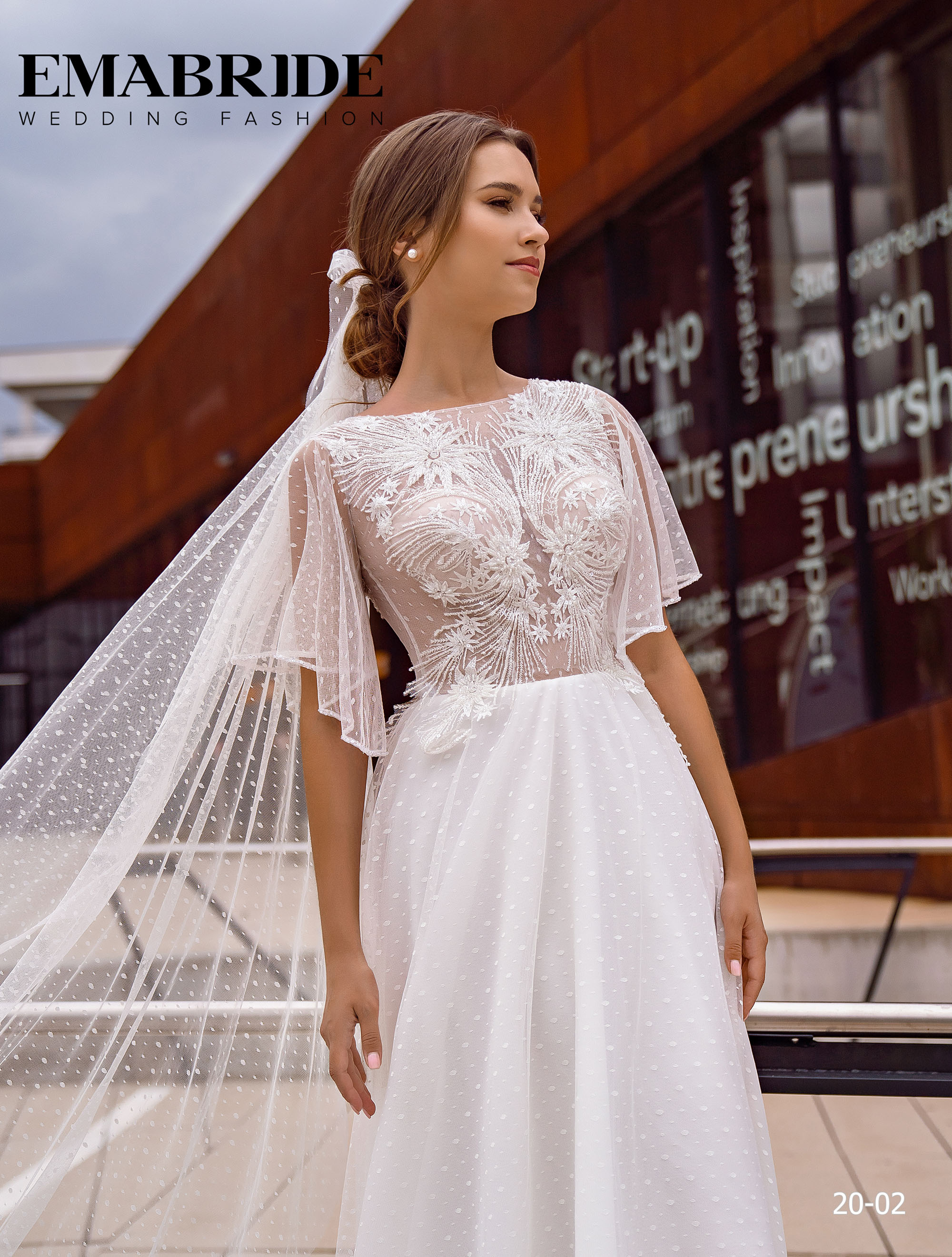 Model 20-02 | Buy wedding dresses wholesale by the ukrainian manufacturer Emabride-1