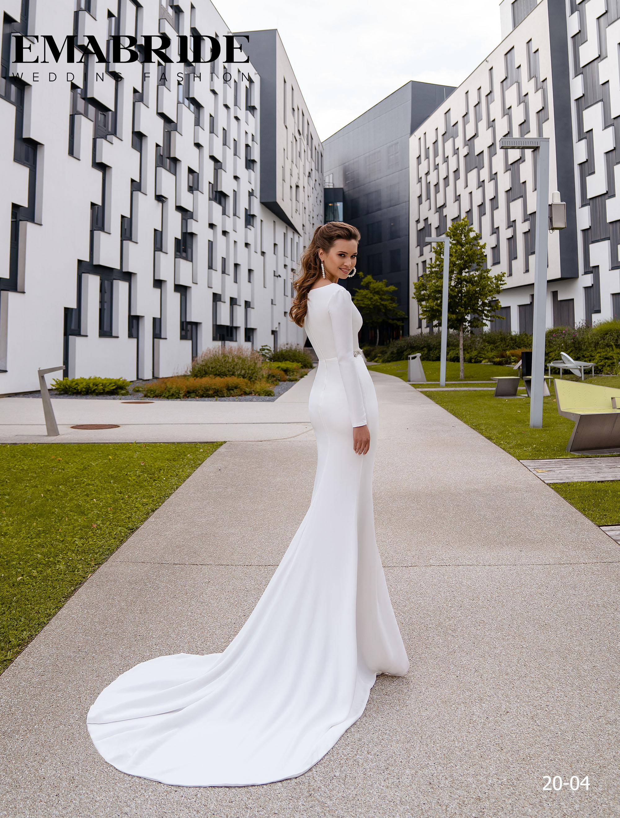 Model 20-04 | Buy wedding dresses wholesale by the ukrainian manufacturer Emabride-3