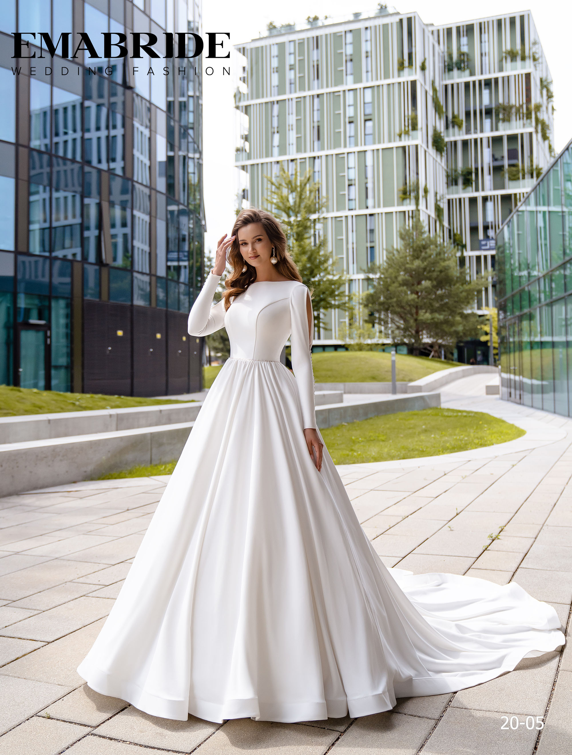 Model 20-05 | Buy wedding dresses wholesale by the ukrainian manufacturer Emabride