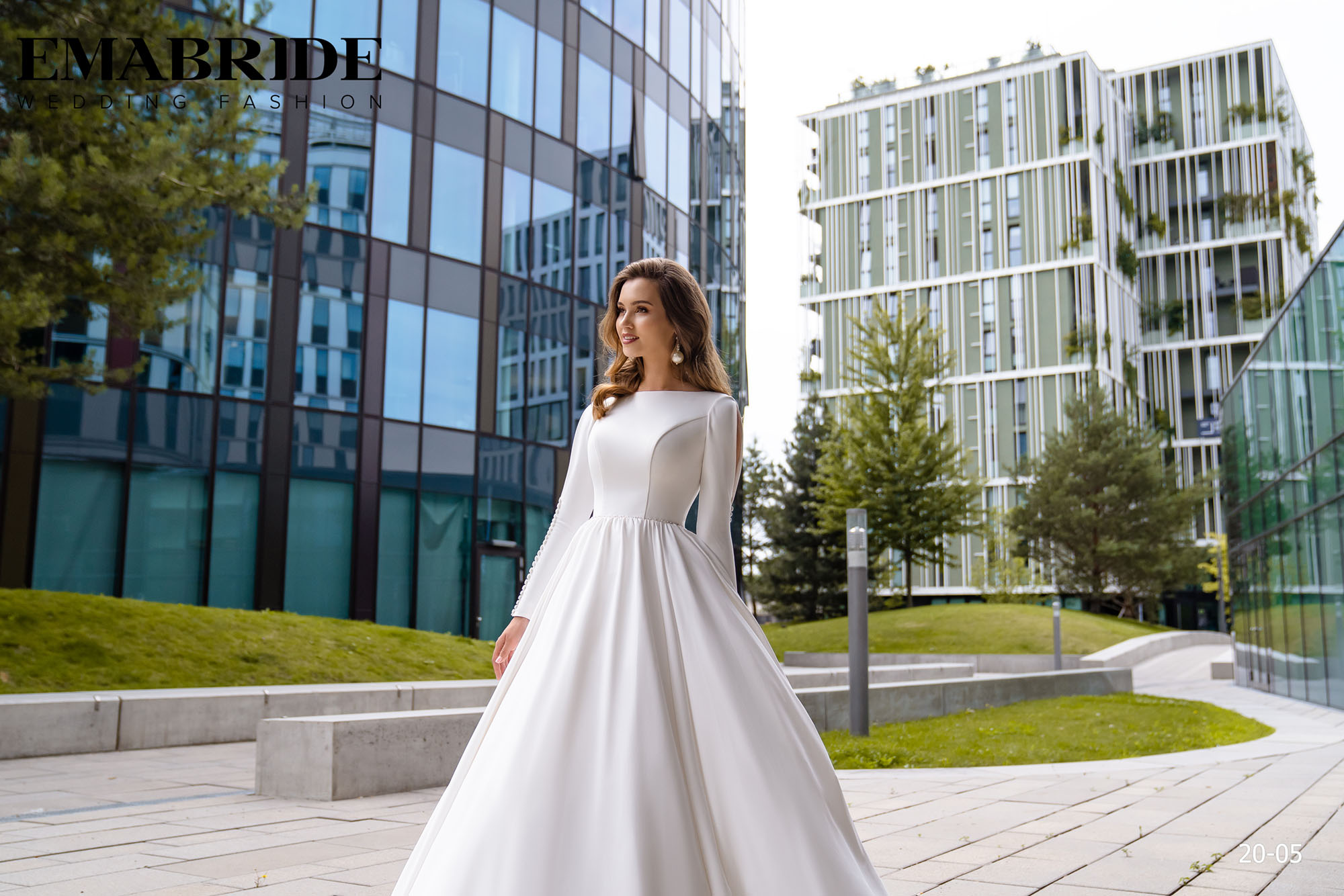 Model 20-05 | Buy wedding dresses wholesale by the ukrainian manufacturer Emabride-1