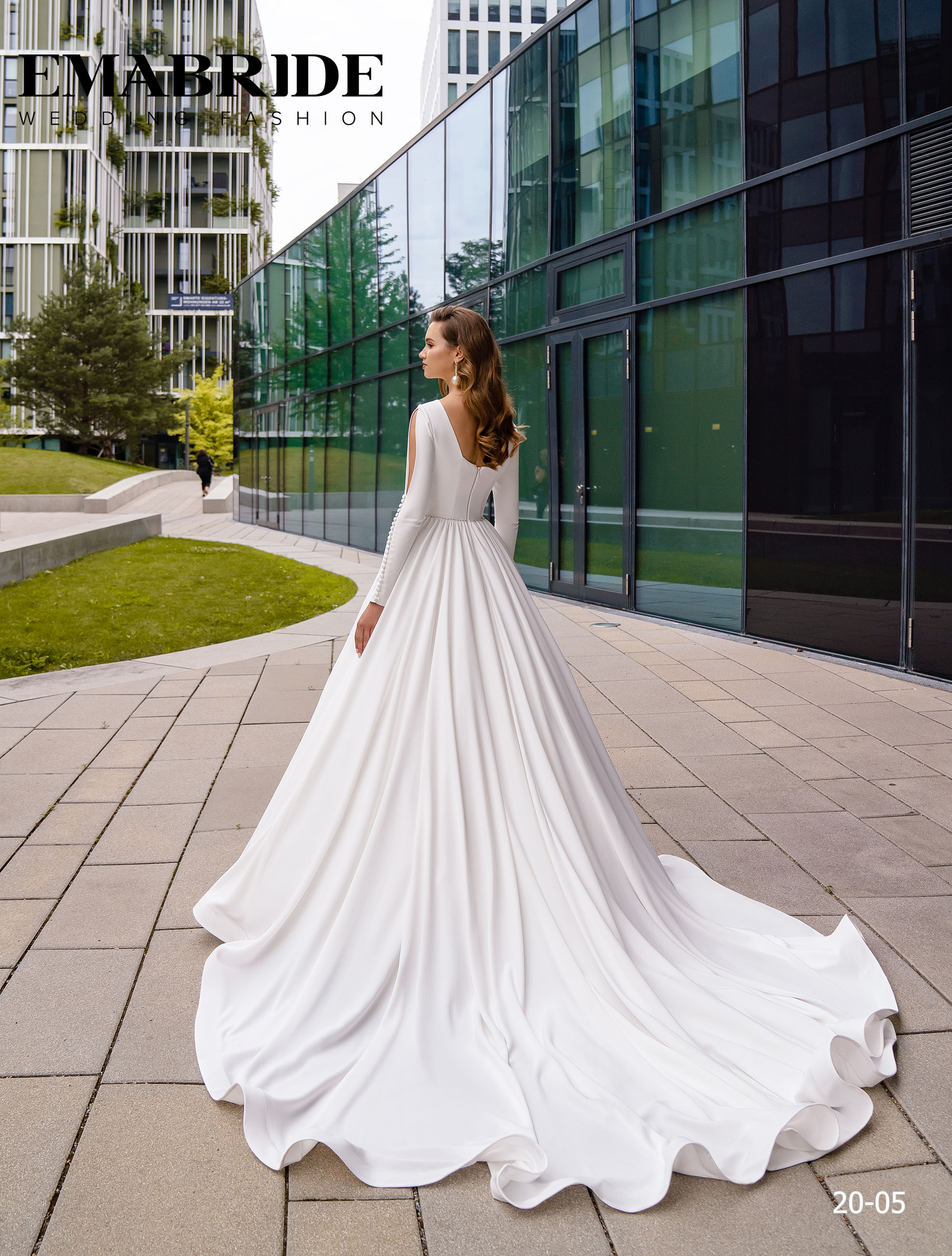 Model 20-05 | Buy wedding dresses wholesale by the ukrainian manufacturer Emabride-2