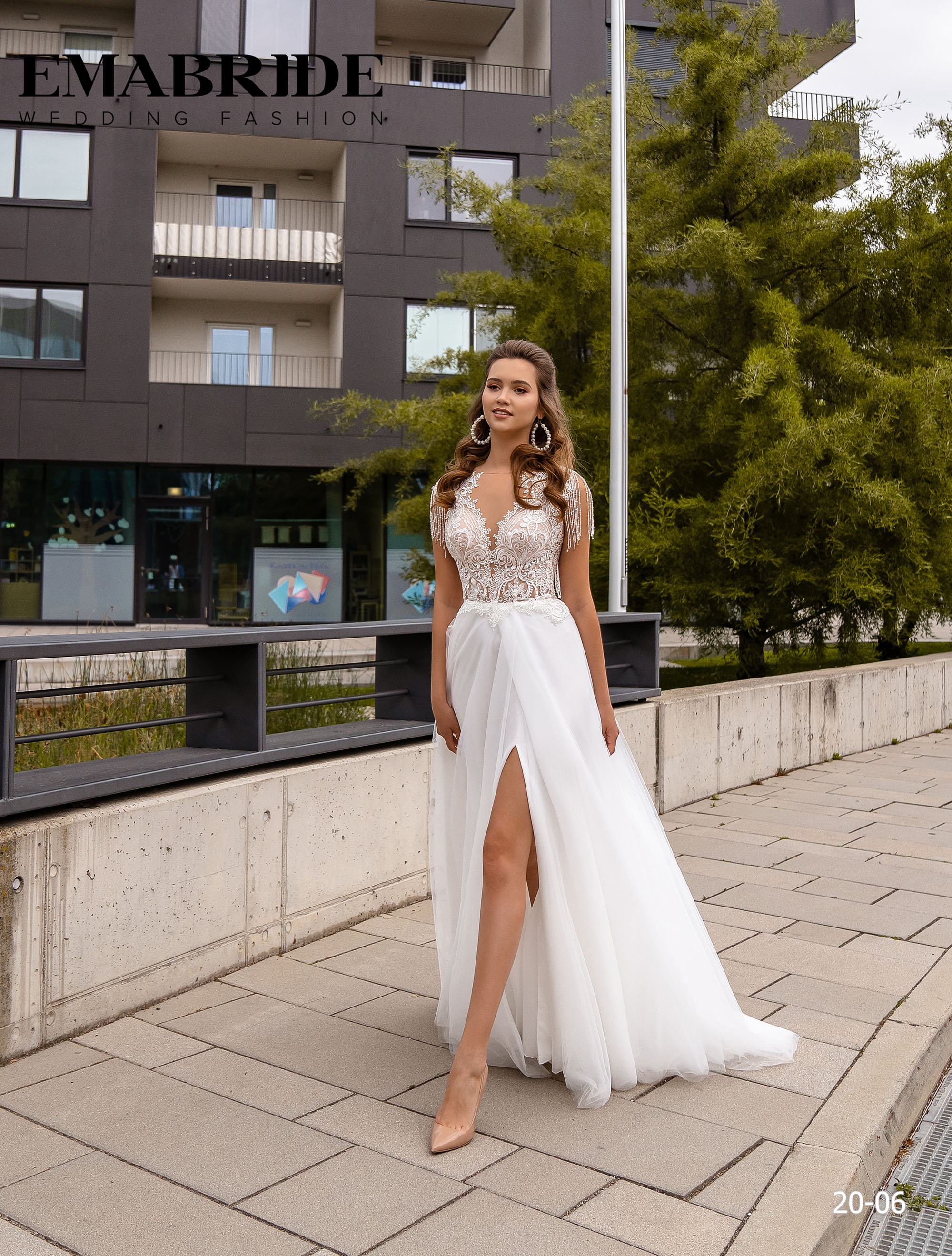 Model 20-06 | Buy wedding dresses wholesale by the ukrainian manufacturer Emabride
