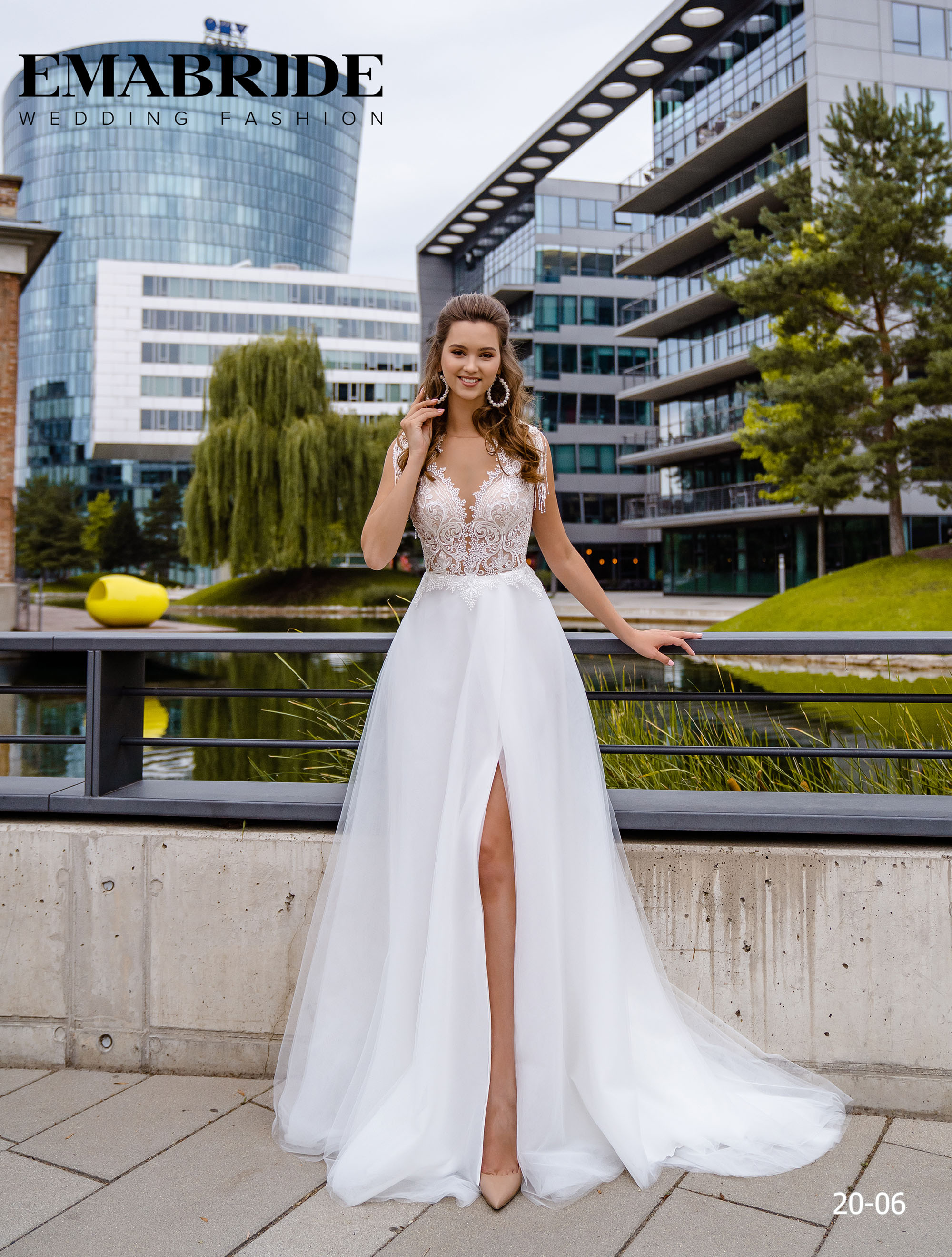 Model 20-06 | Buy wedding dresses wholesale by the ukrainian manufacturer Emabride-1