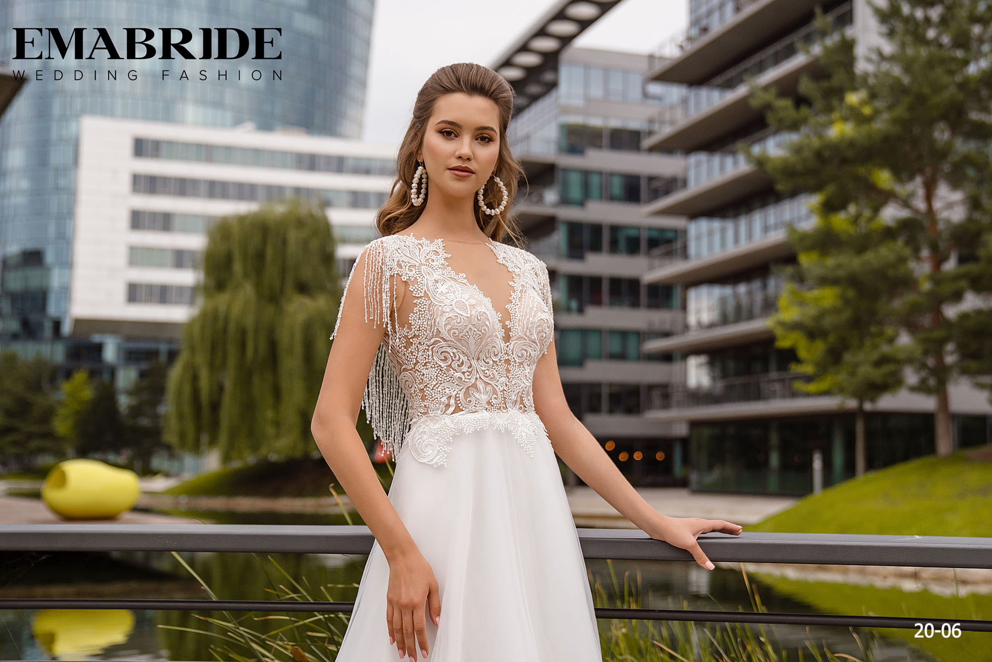 Model 20-06 | Buy wedding dresses wholesale by the ukrainian manufacturer Emabride-2