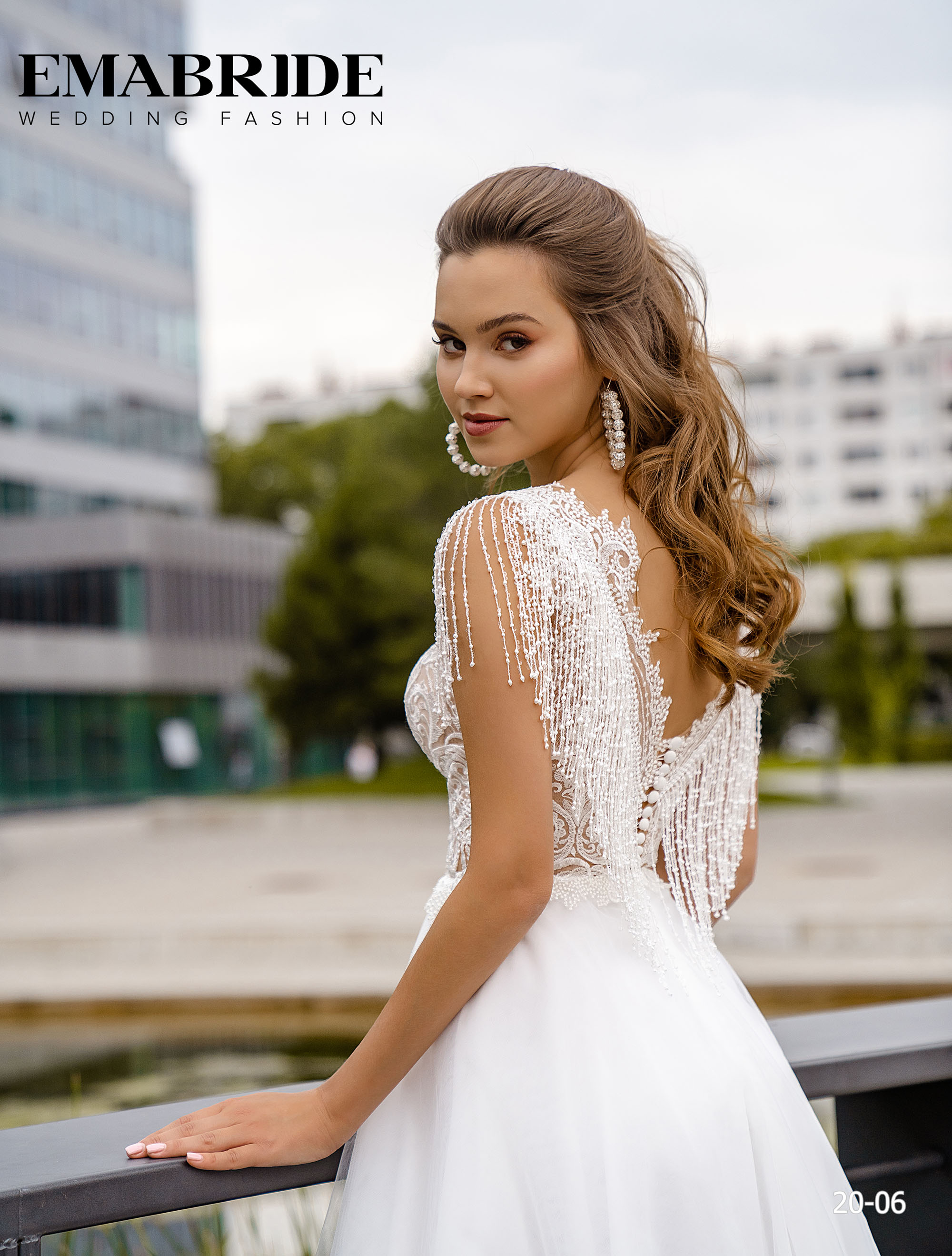 Model 20-06 | Buy wedding dresses wholesale by the ukrainian manufacturer Emabride-4