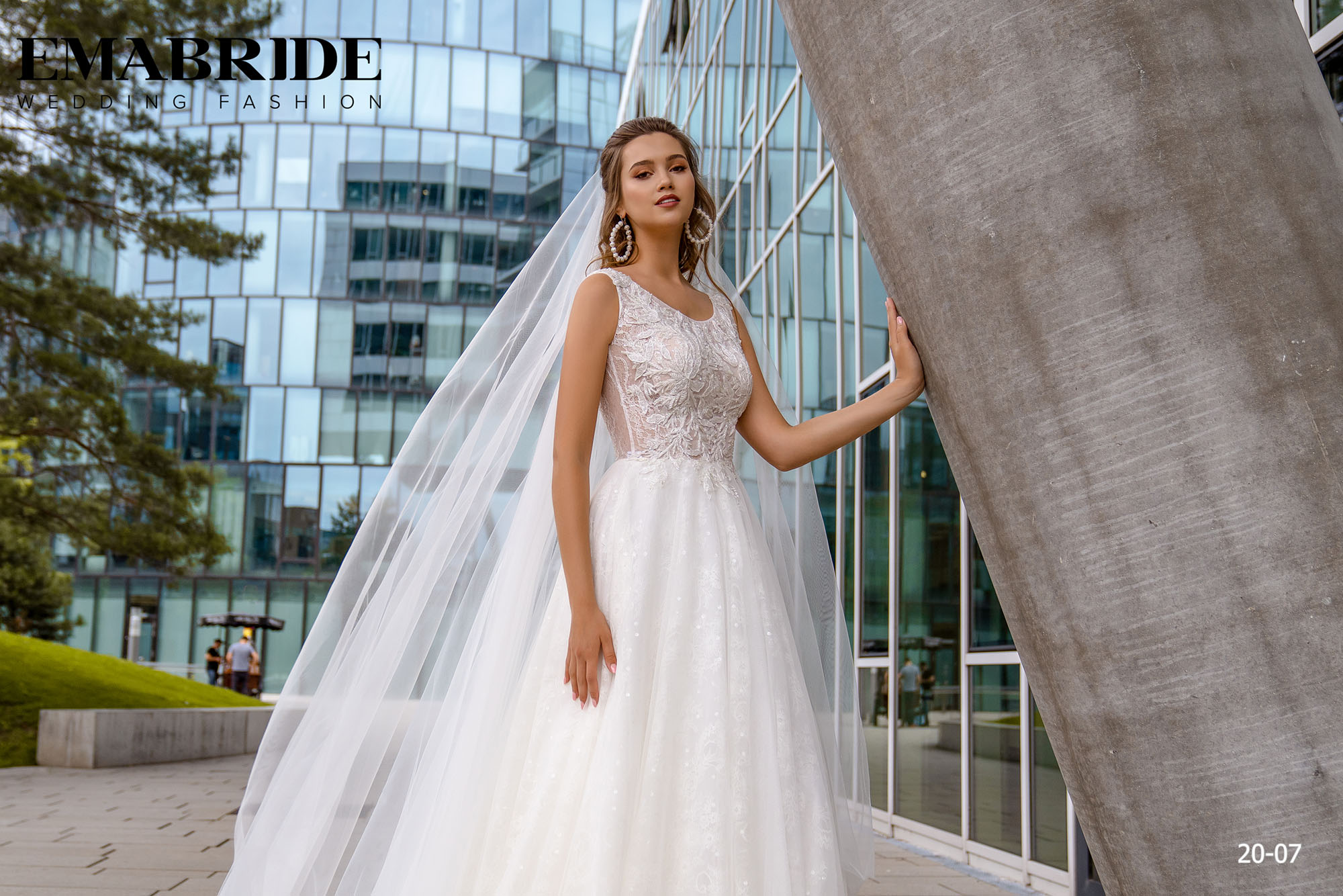 Model 20-07 | Buy wedding dresses wholesale by the ukrainian manufacturer Emabride-1