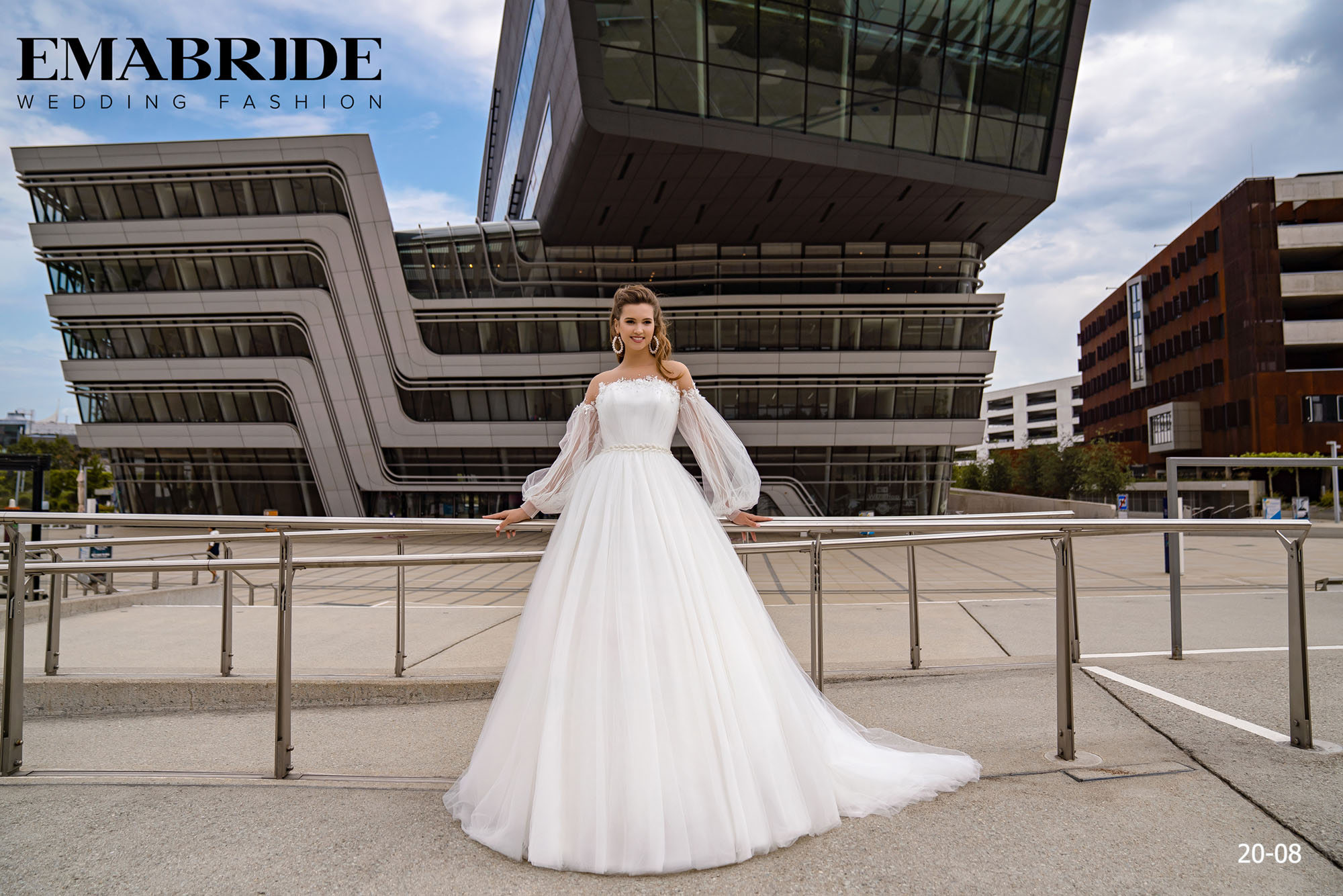 Model 20-08 | Buy wedding dresses wholesale by the ukrainian manufacturer Emabride-1