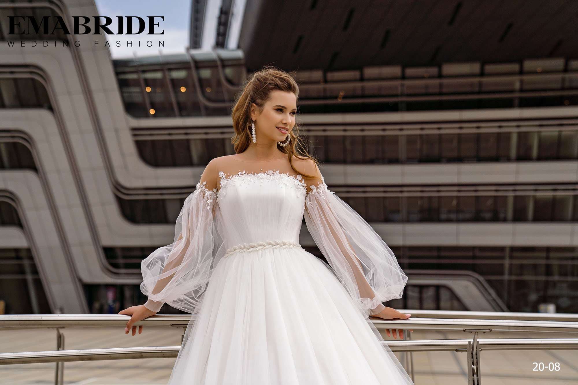 Model 20-08 | Buy wedding dresses wholesale by the ukrainian manufacturer Emabride-2