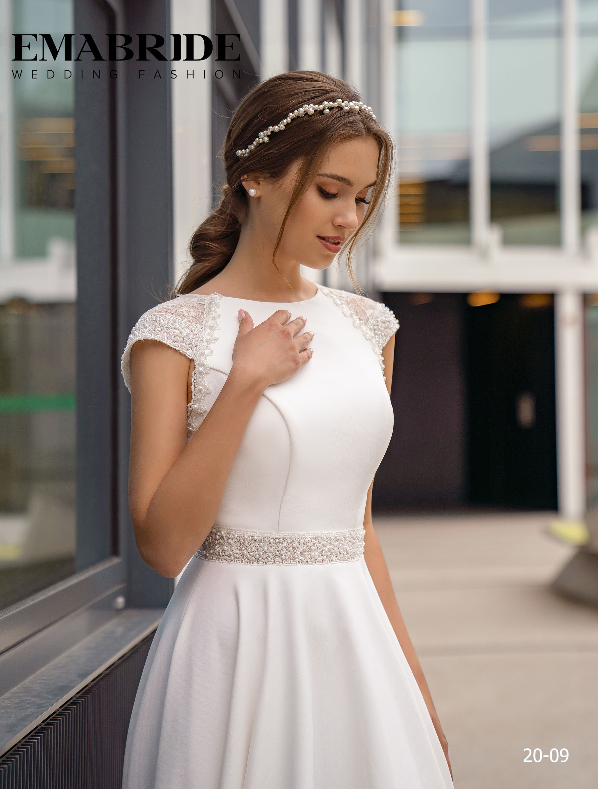 Model 20-09 | Buy wedding dresses wholesale by the ukrainian manufacturer Emabride-1