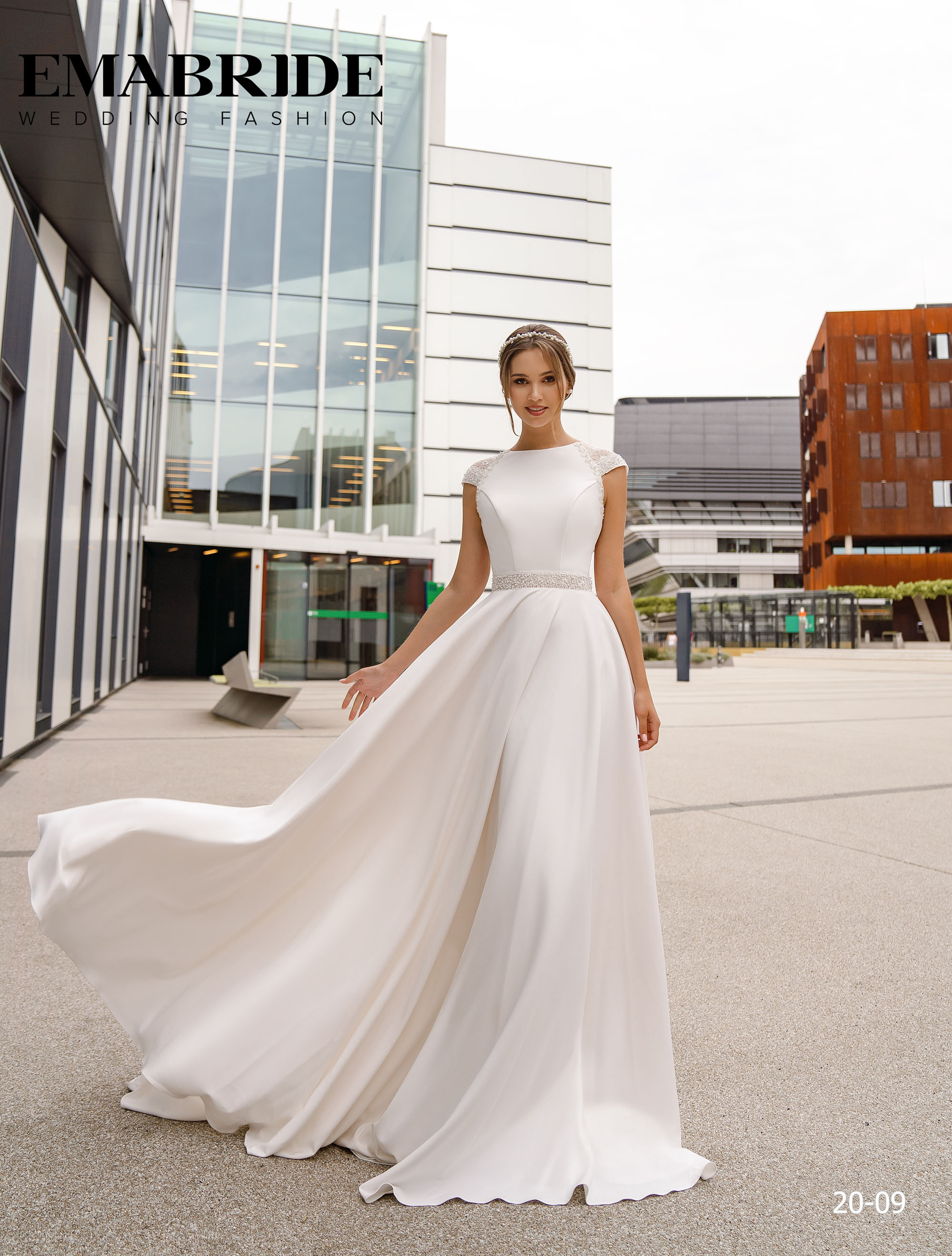 Model 20-09 | Buy wedding dresses wholesale by the ukrainian manufacturer Emabride-2