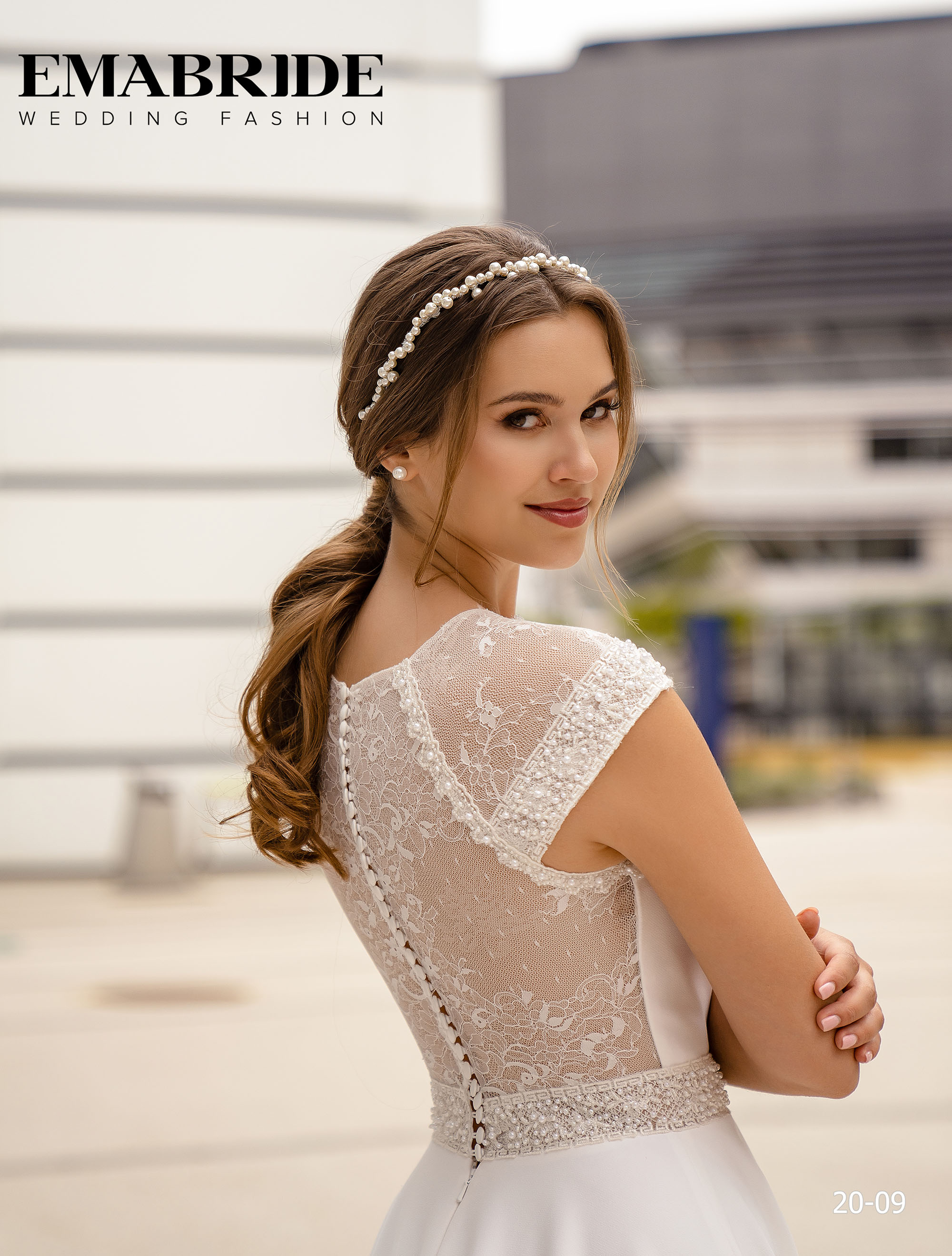 Model 20-09 | Buy wedding dresses wholesale by the ukrainian manufacturer Emabride-3