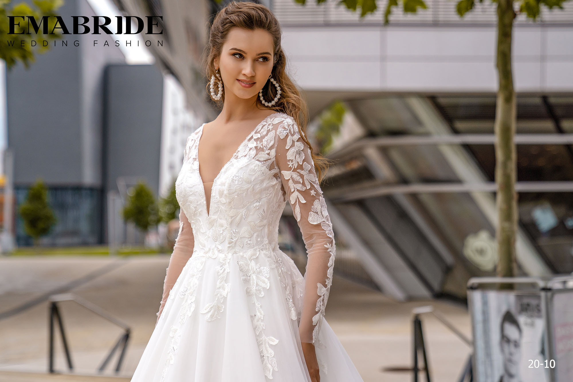 Model 20-10 | Buy wedding dresses wholesale by the ukrainian manufacturer Emabride-1