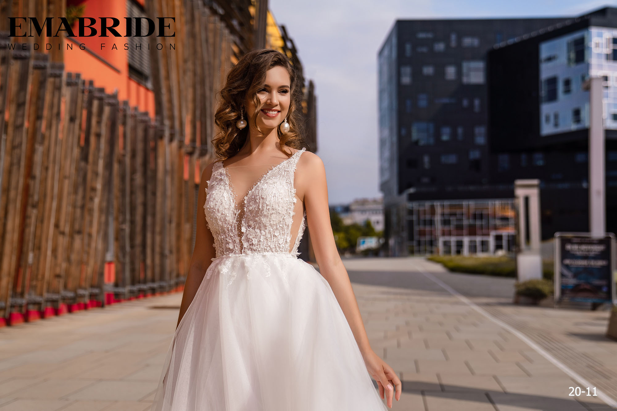 Model 20-11 | Buy wedding dresses wholesale by the ukrainian manufacturer Emabride-1