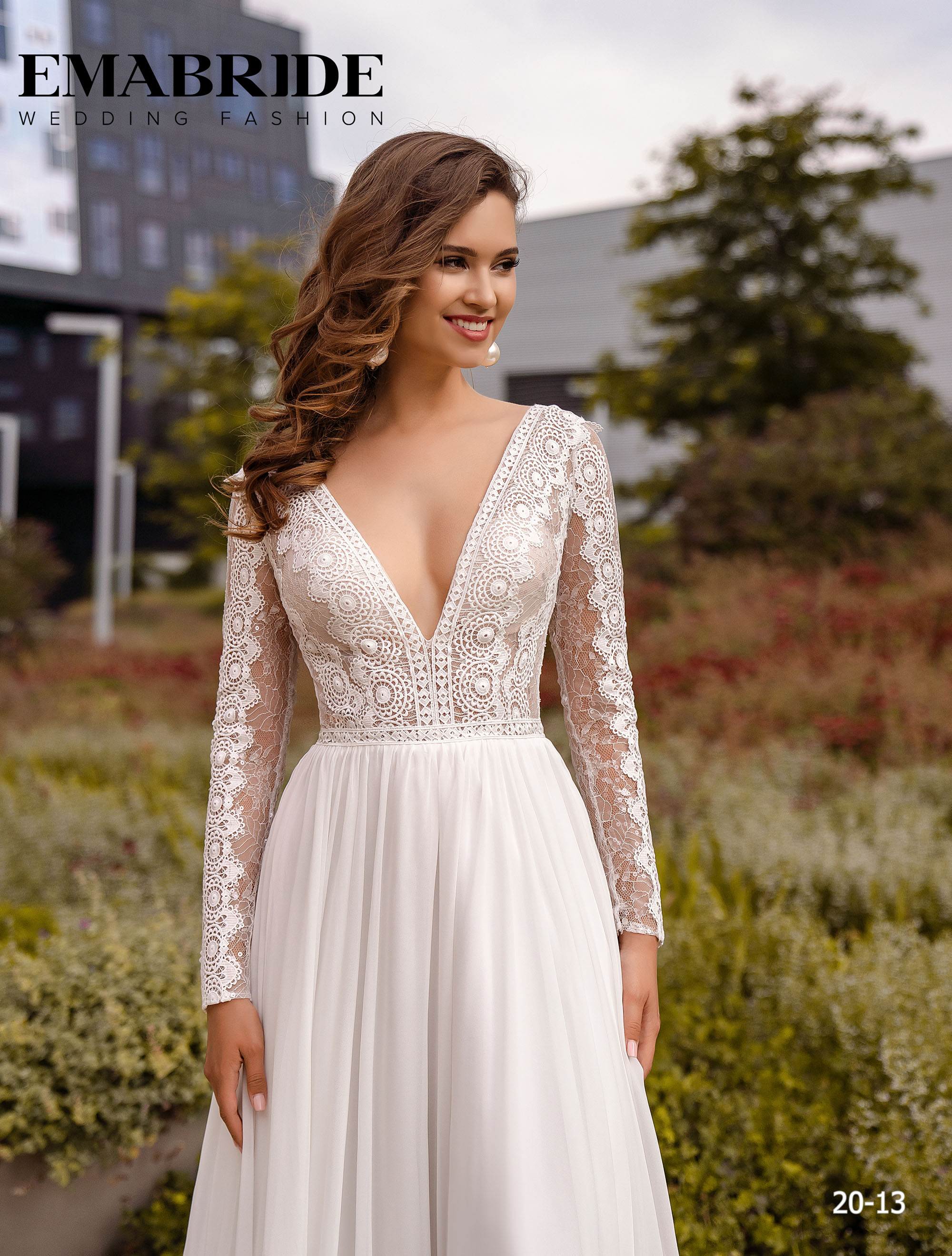 Model 20-13 | Buy wedding dresses wholesale by the ukrainian manufacturer Emabride